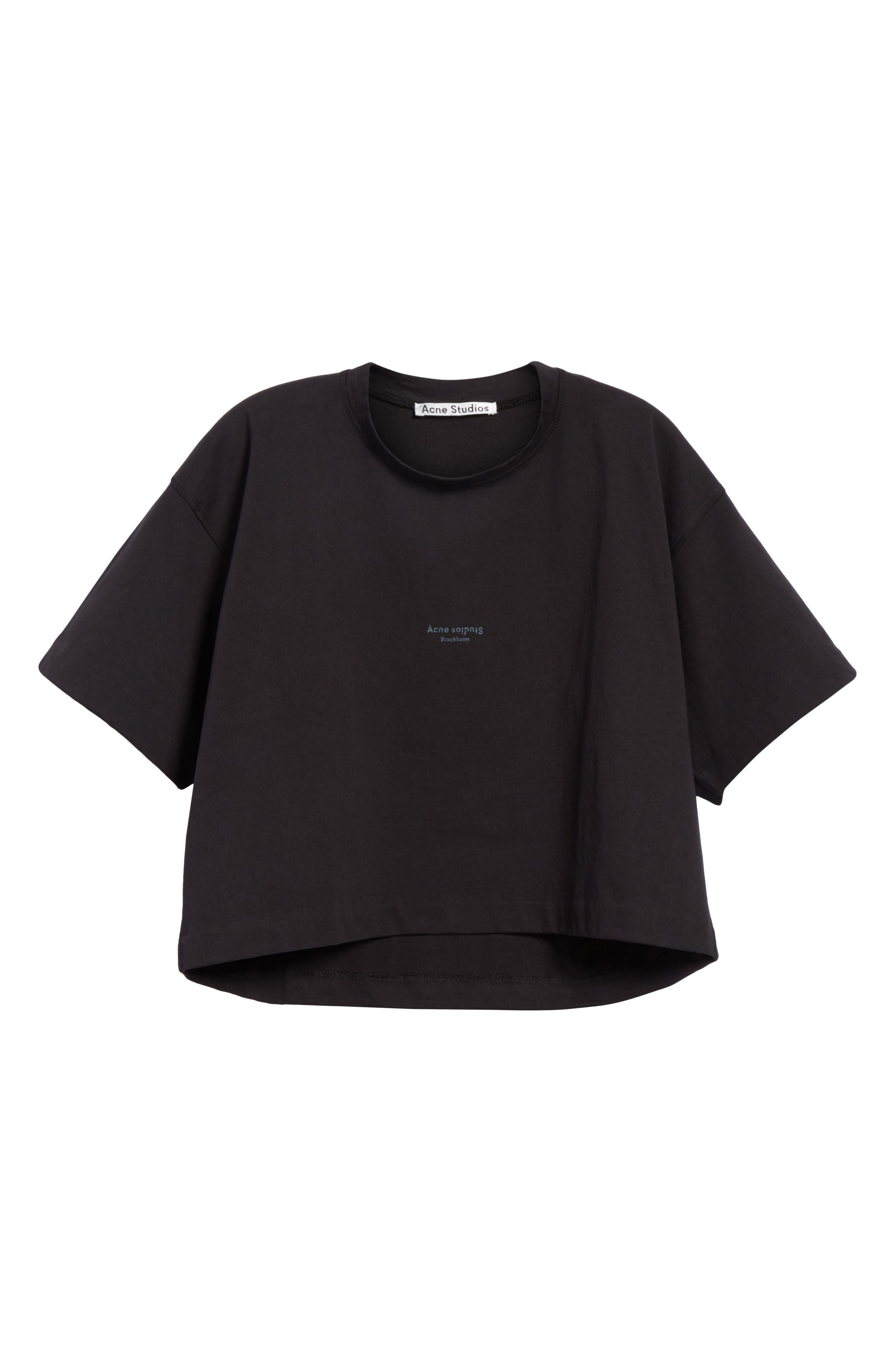 Cylea Crop Tee,                             Alternate thumbnail 6, color,