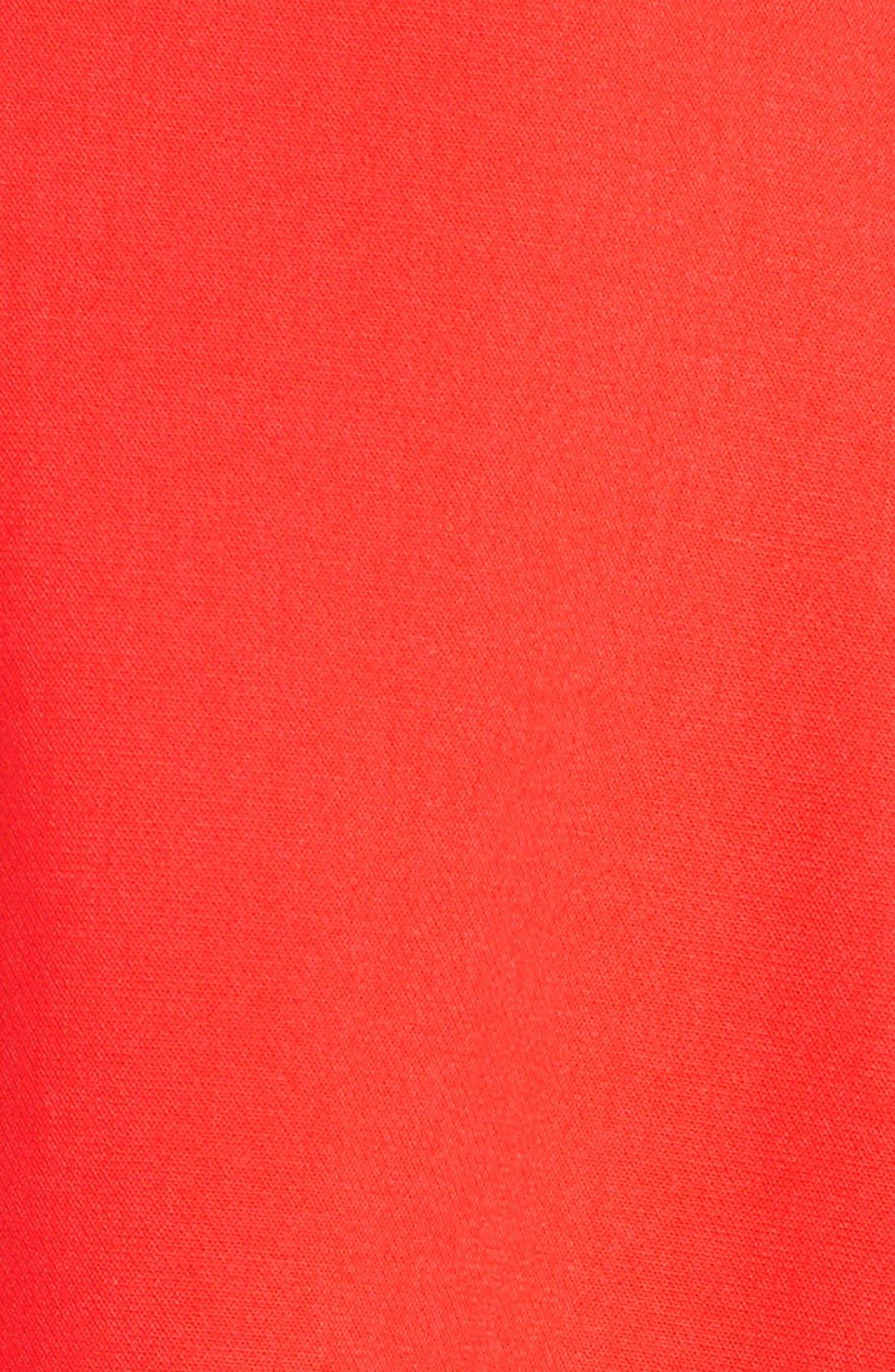 Whisper Light Fit & Flare Dress,                             Alternate thumbnail 8, color,