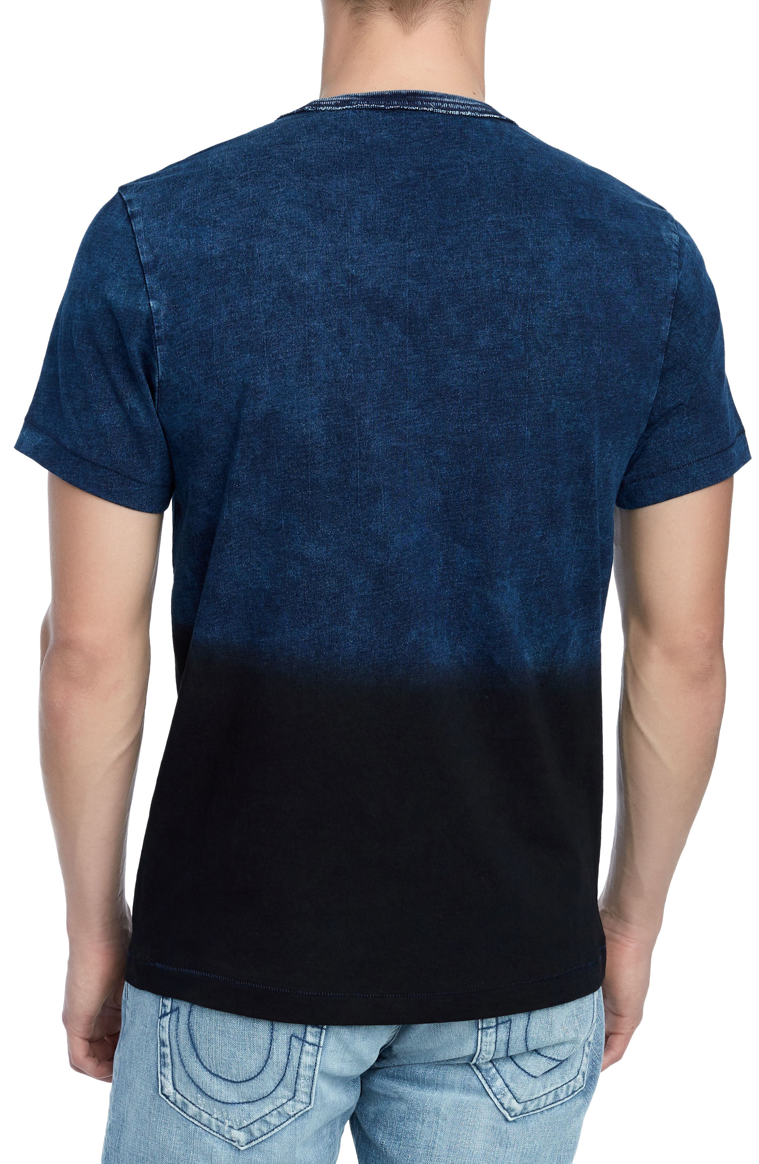 Novelty Indigo T-Shirt,                             Alternate thumbnail 2, color,                             INDIGO