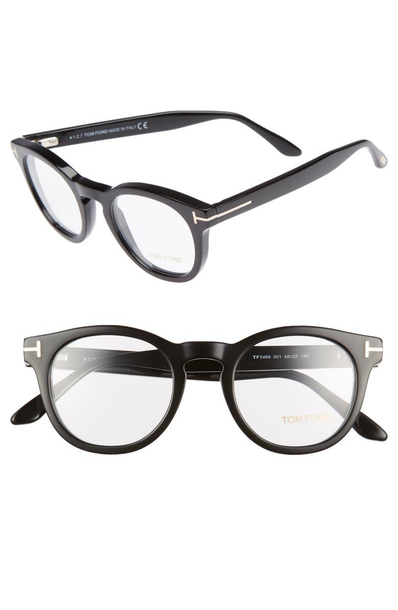 af9b132821 Tom Ford 48mm Round Optical Glasses