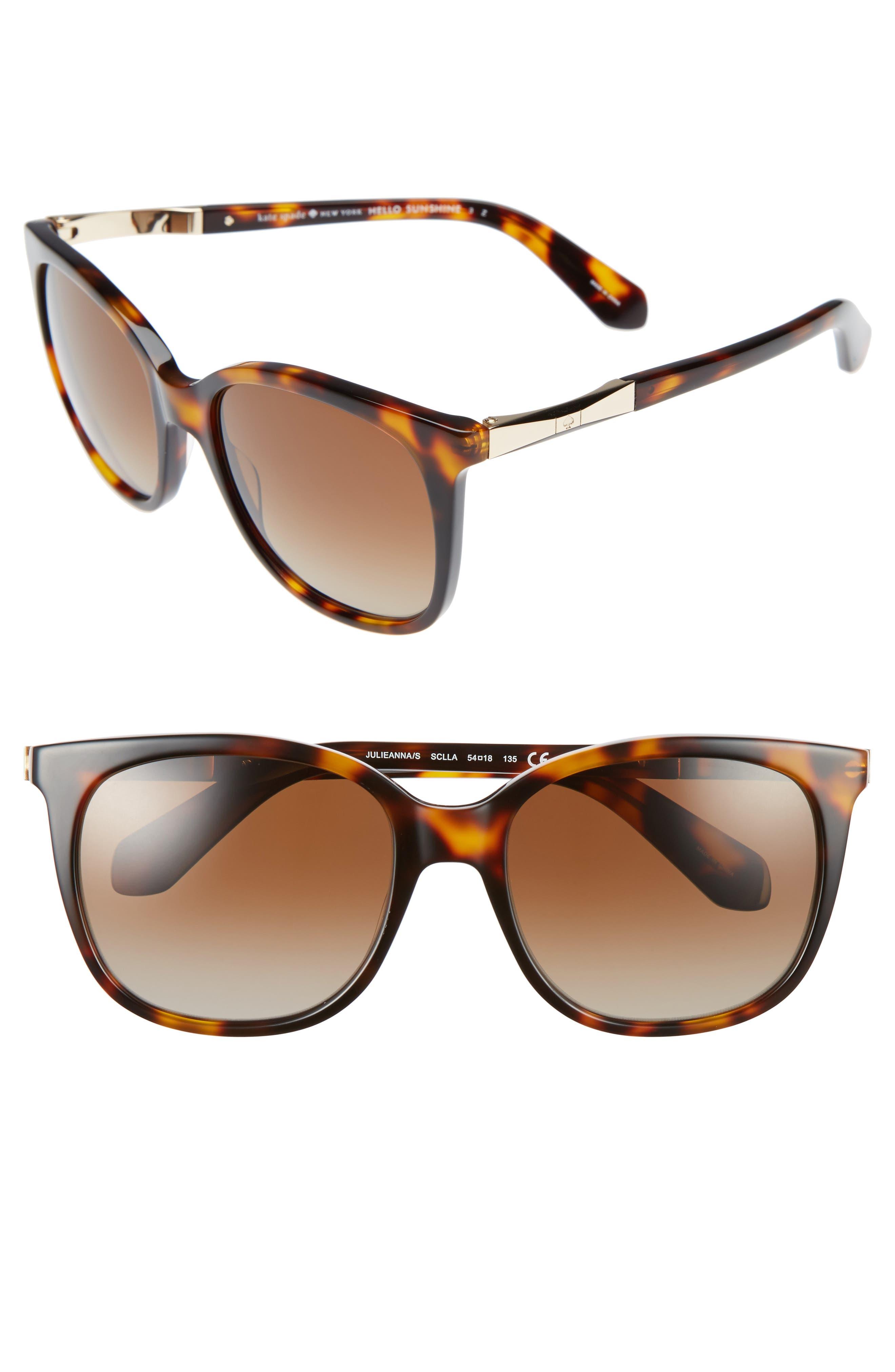 julieanna 54mm polarized sunglasses,                             Main thumbnail 3, color,
