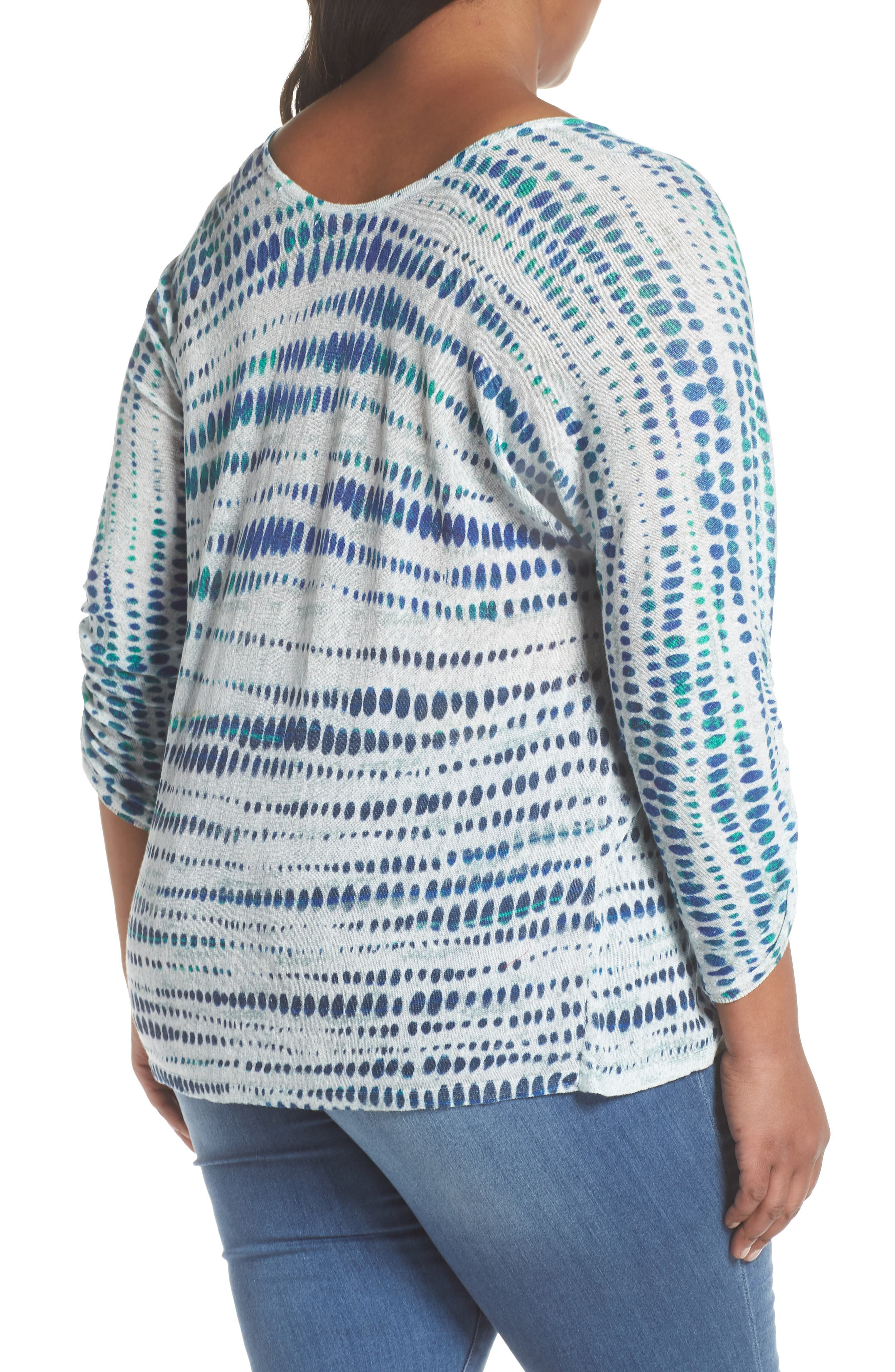 High Point Print Top,                             Alternate thumbnail 2, color,