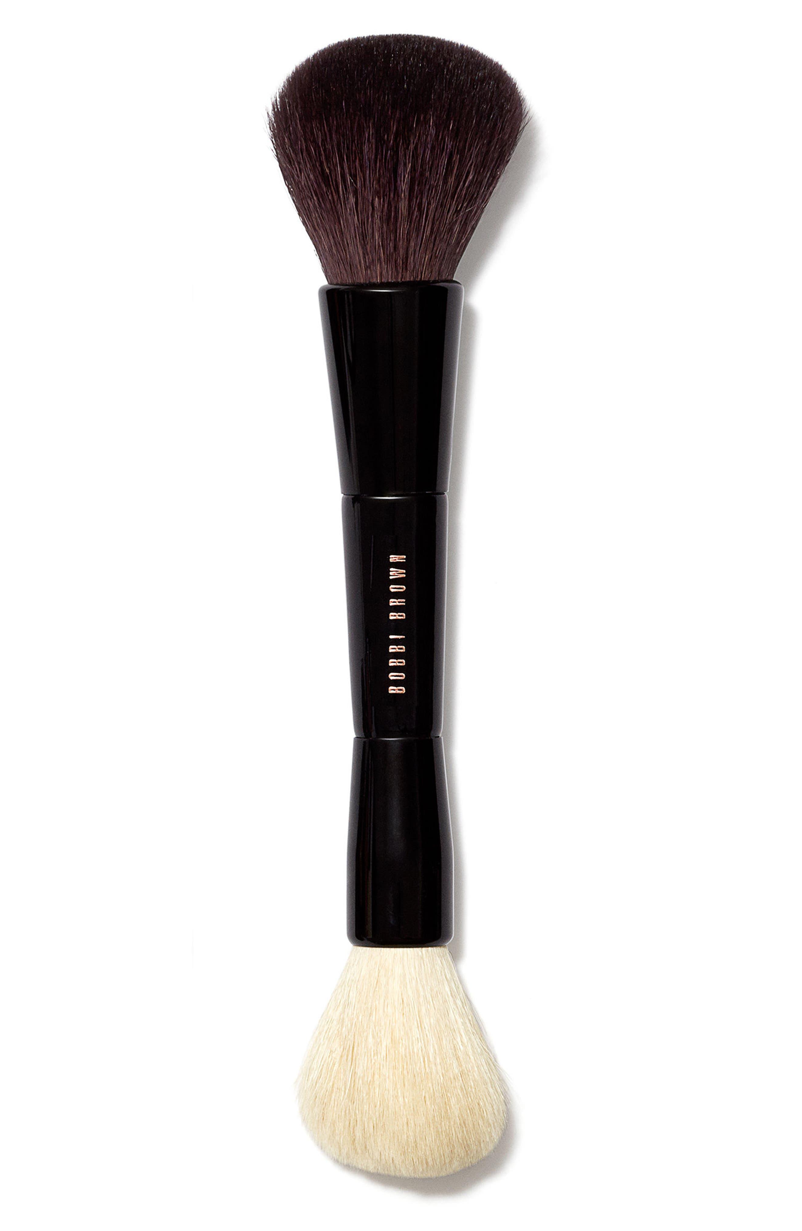 Dual Bronzer/Face Blender Brush,                             Main thumbnail 1, color,