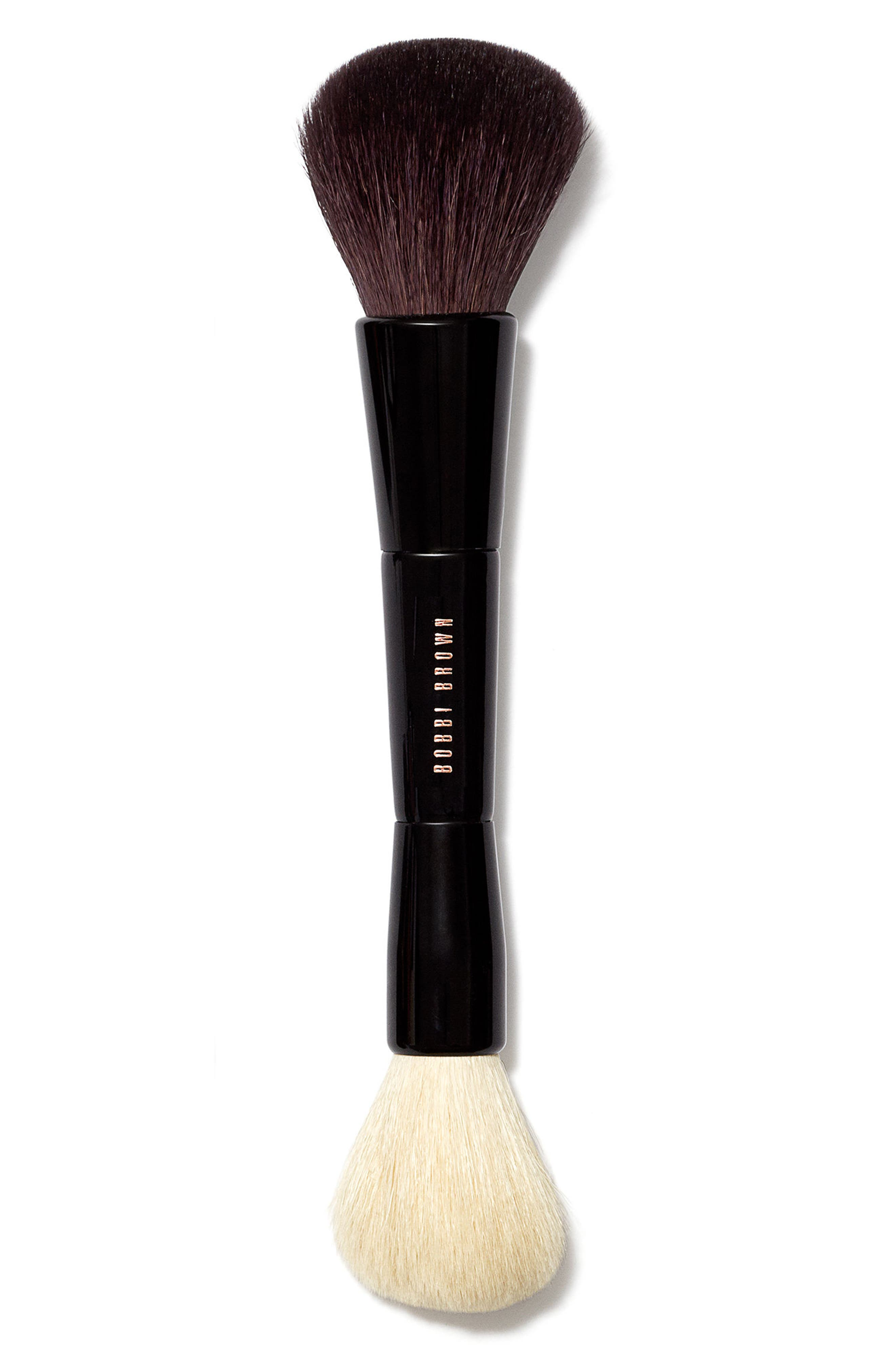 Dual Bronzer/Face Blender Brush,                         Main,                         color,