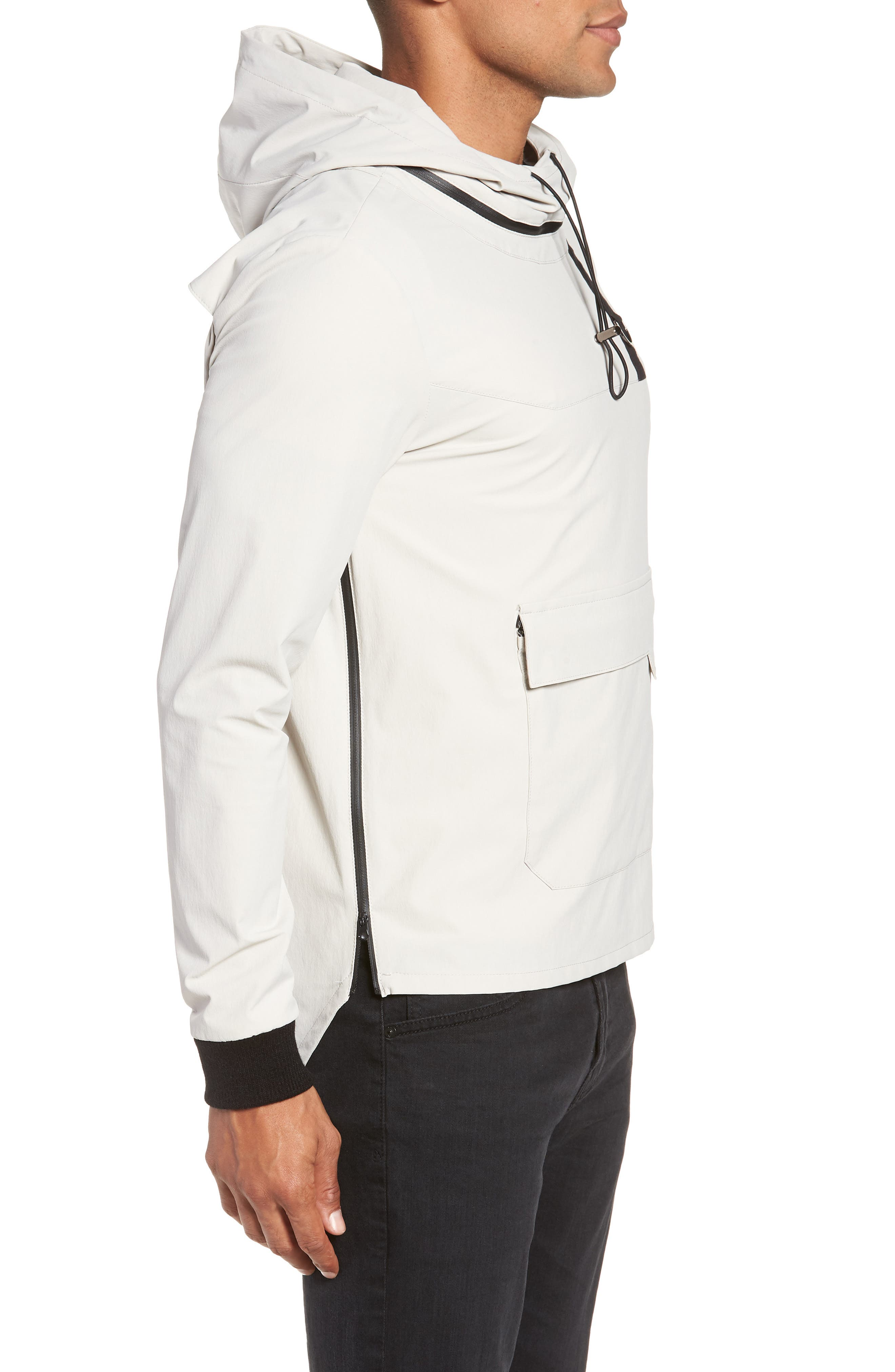 Pullover with Removable Hood,                             Alternate thumbnail 3, color,                             270