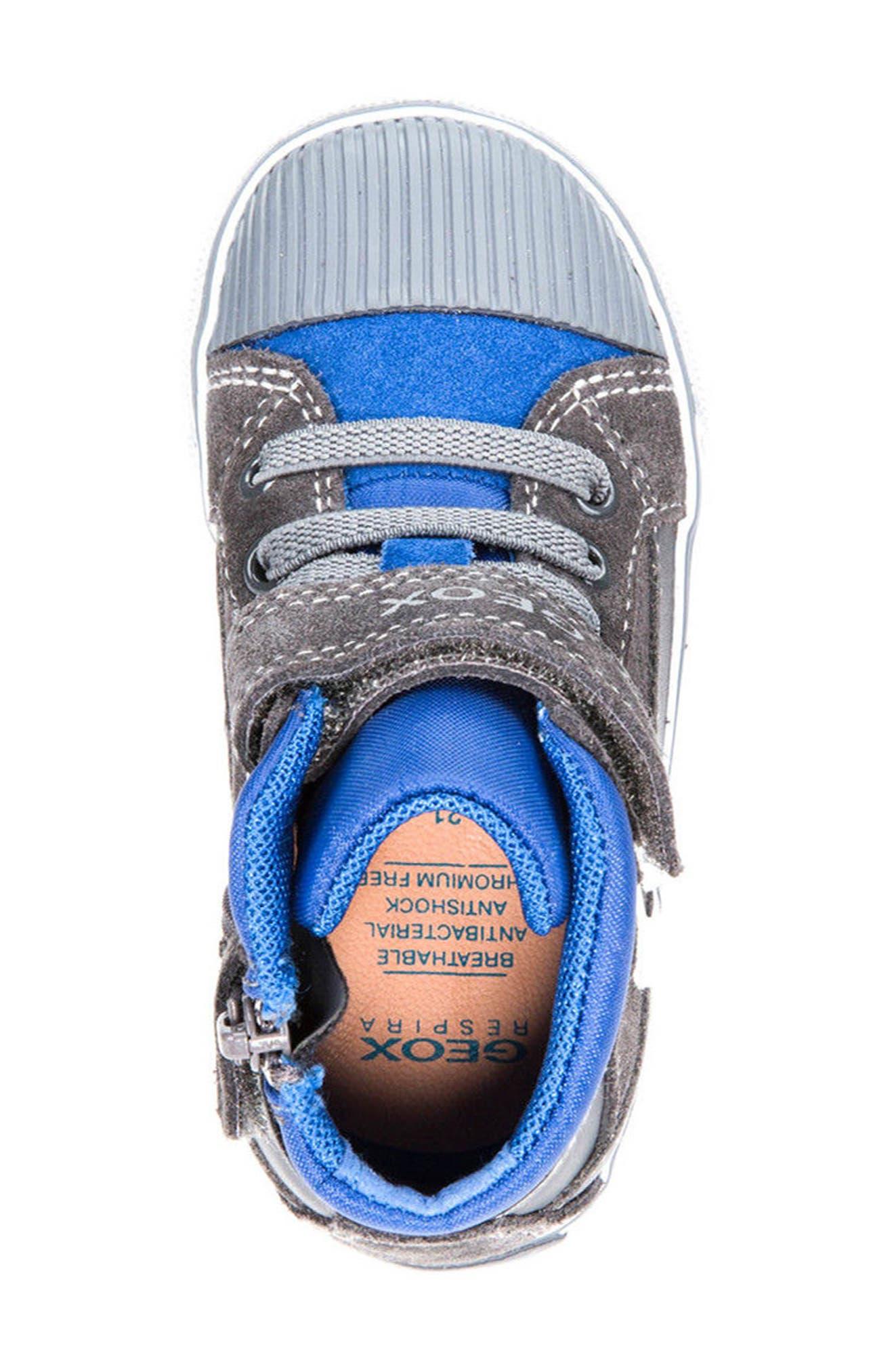 Kiwi Boy High Top Sneaker,                             Alternate thumbnail 5, color,                             073