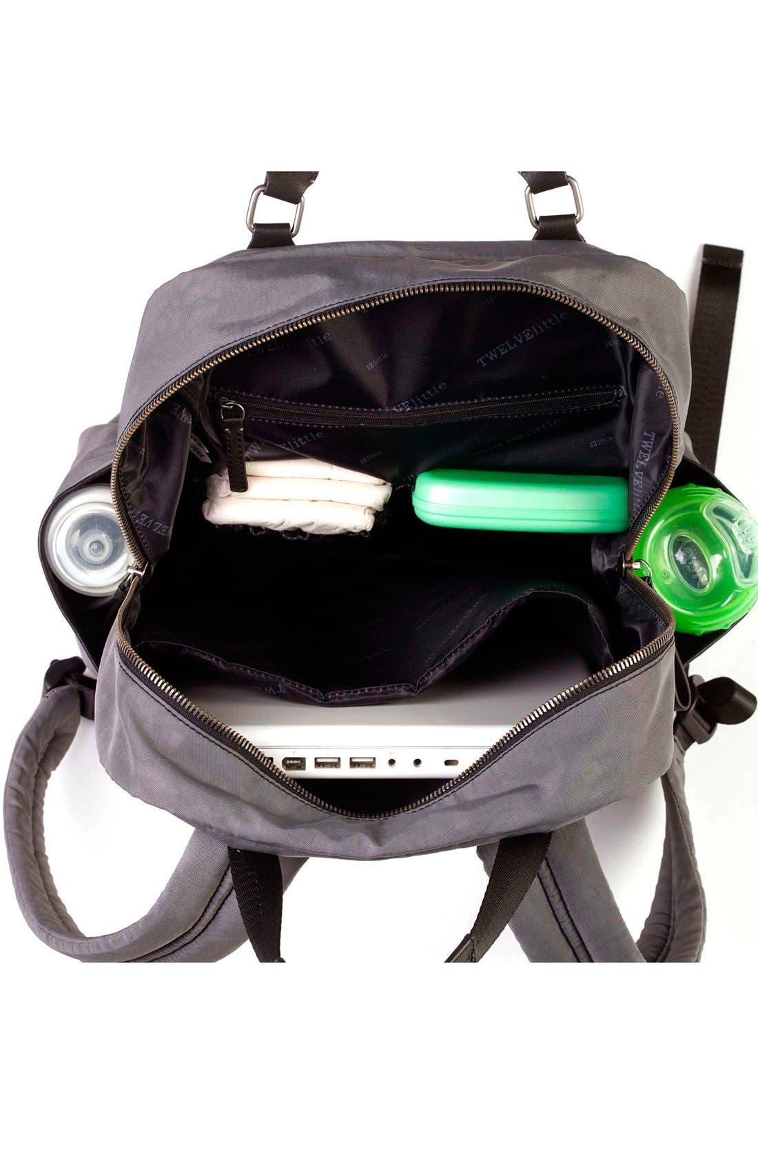 'Courage' Unisex Backpack Diaper Bag,                             Alternate thumbnail 5, color,                             020