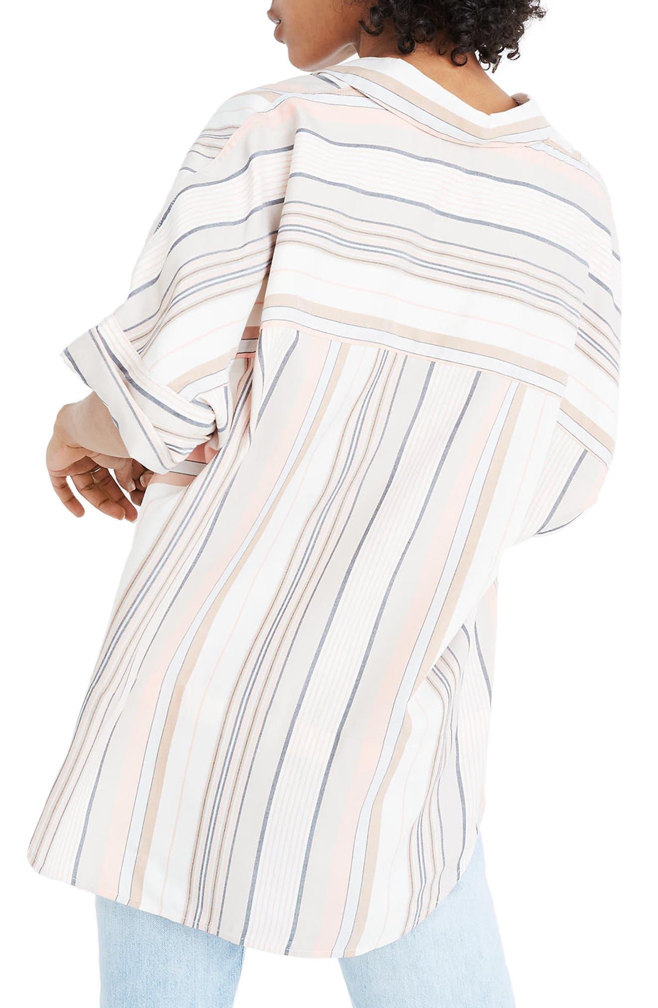 Courier Stripe Shirt,                             Alternate thumbnail 2, color,                             250