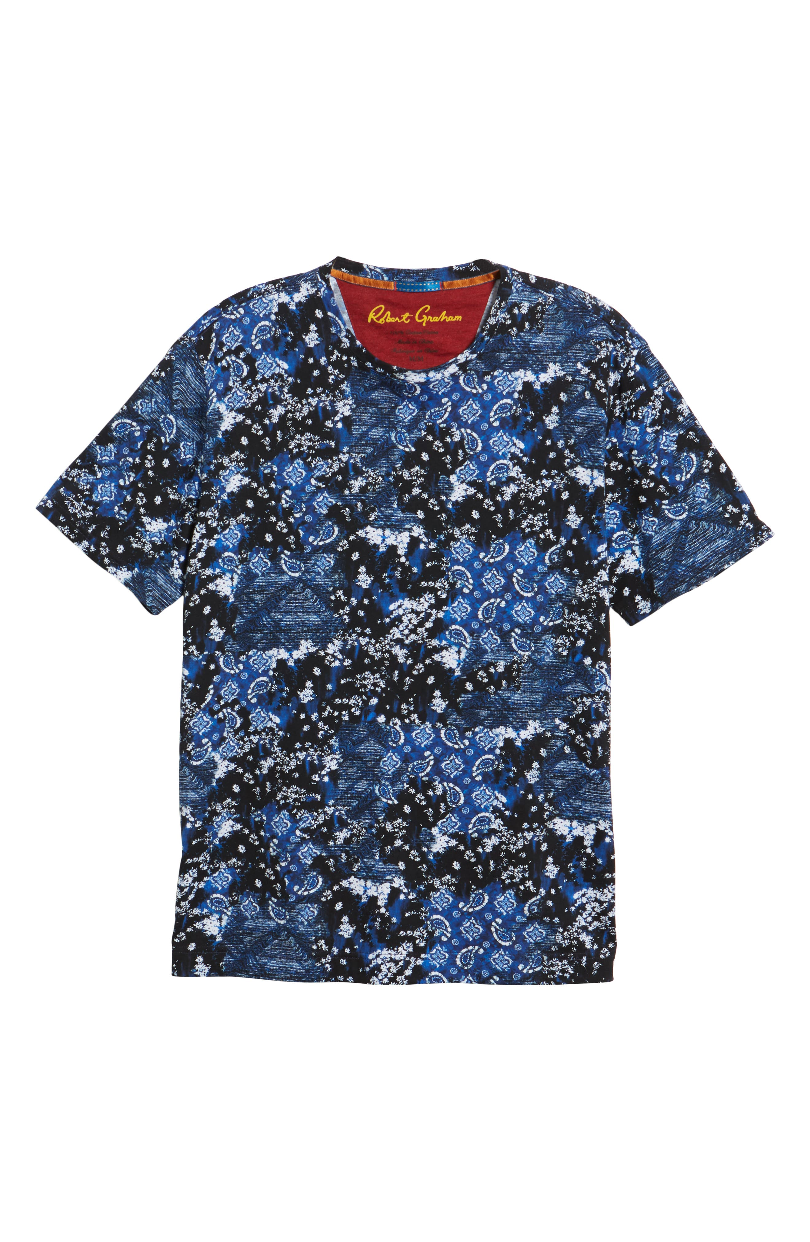 Carvel Rock T-Shirt,                             Alternate thumbnail 6, color,                             INDIGO