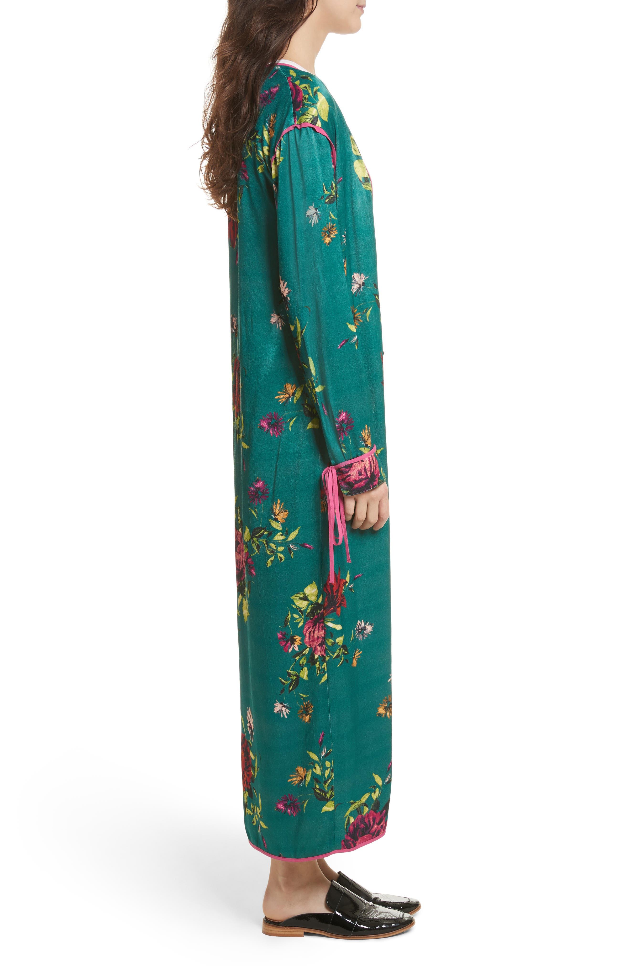 Kimono Duster,                             Alternate thumbnail 3, color,