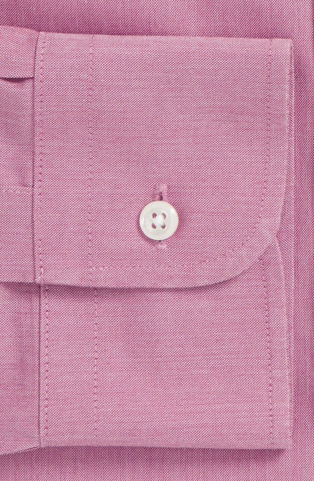 Smartcare<sup>™</sup> Traditional Fit Pinpoint Dress Shirt,                             Alternate thumbnail 68, color,