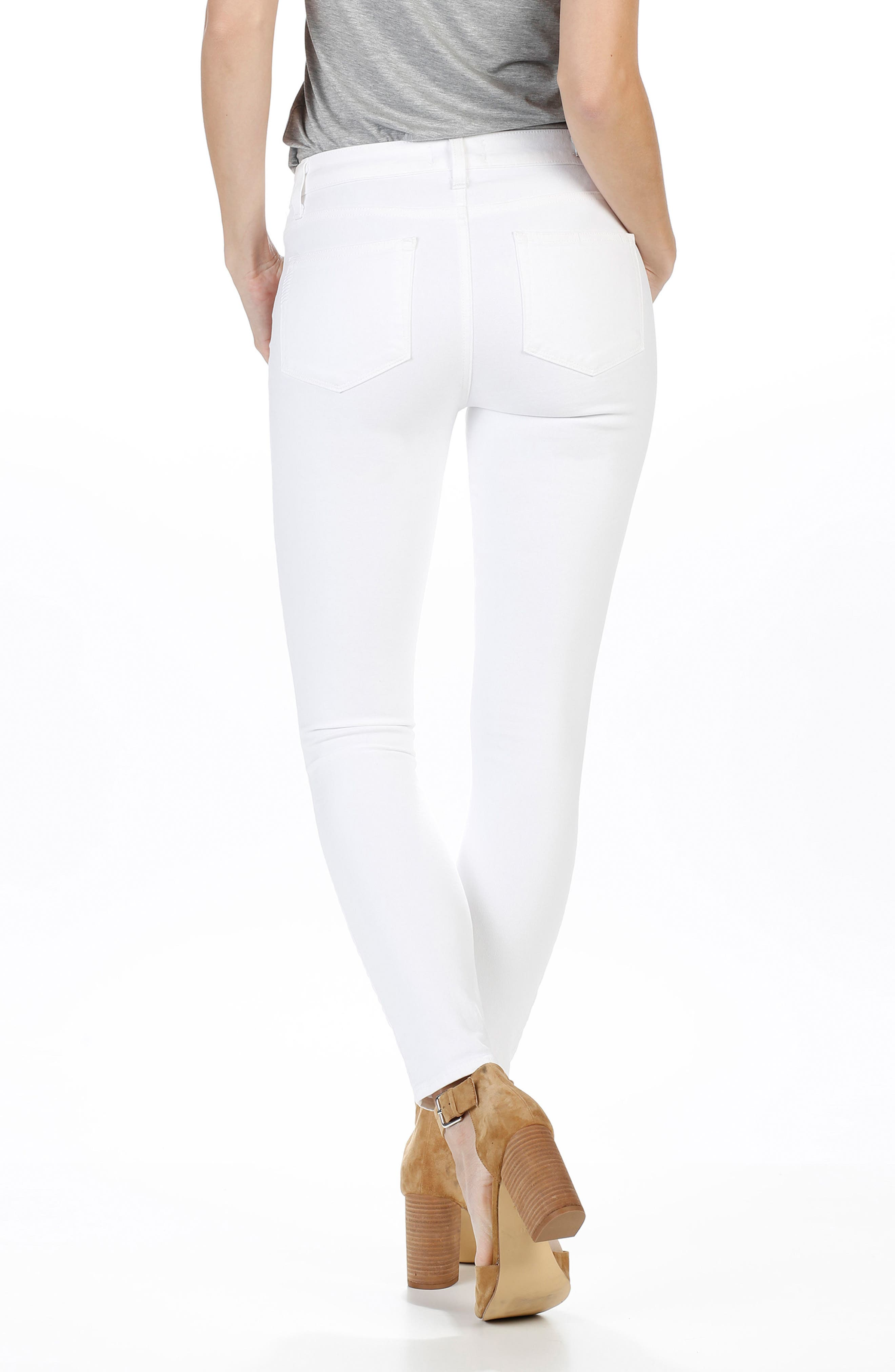 Hoxton High Waist Ankle Skinny Jeans,                             Alternate thumbnail 2, color,