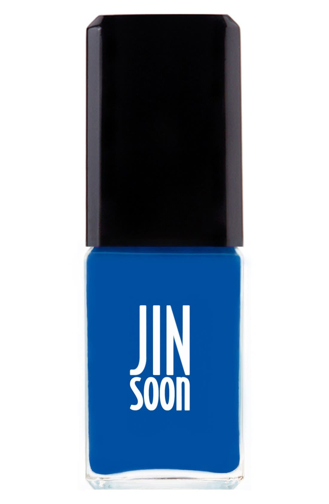 'Cool Blue' Nail Lacquer,                             Main thumbnail 1, color,                             COOL BLUE