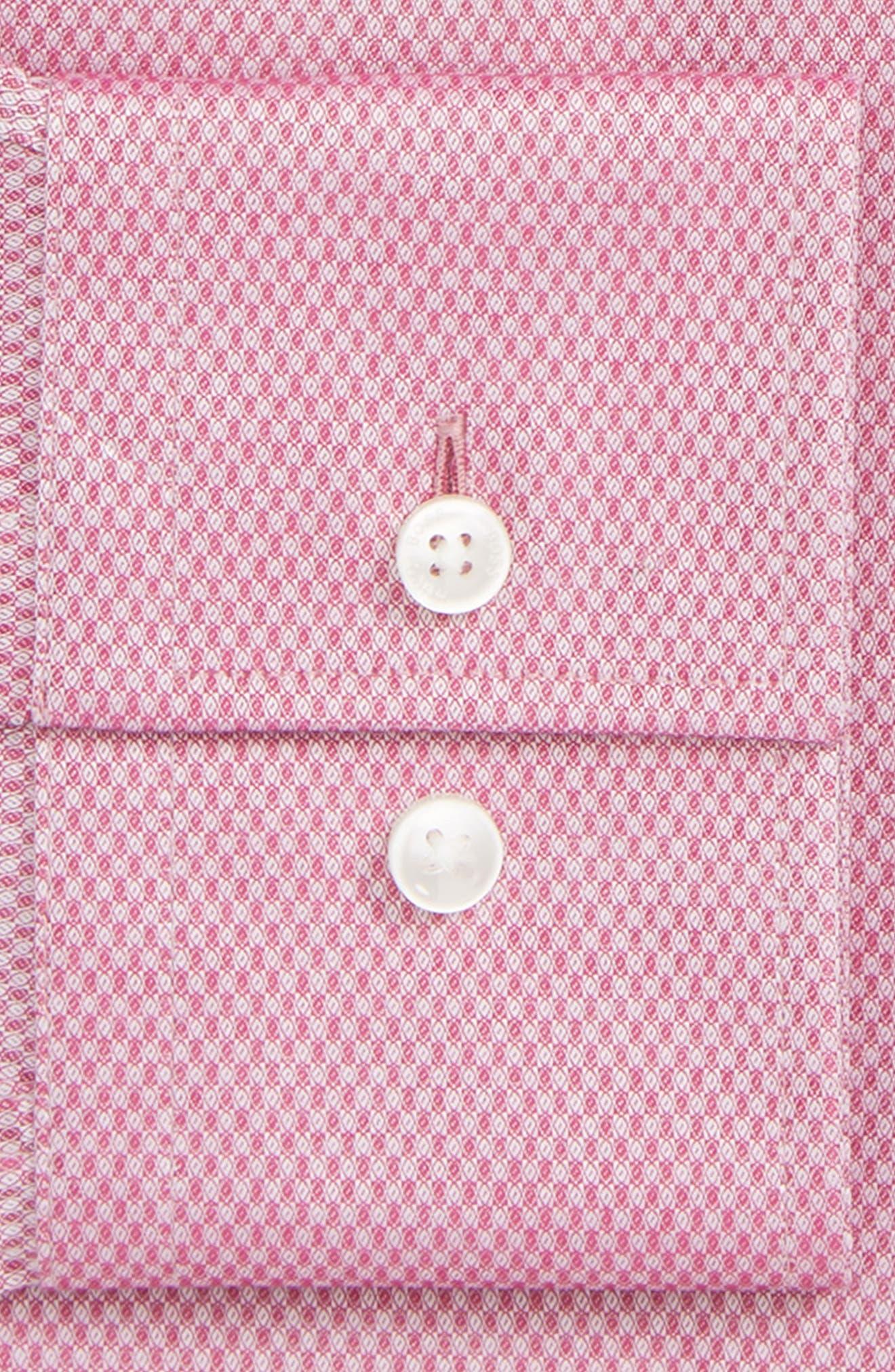 Jenno Slim Fit Solid Dress Shirt,                             Alternate thumbnail 2, color,                             PINK
