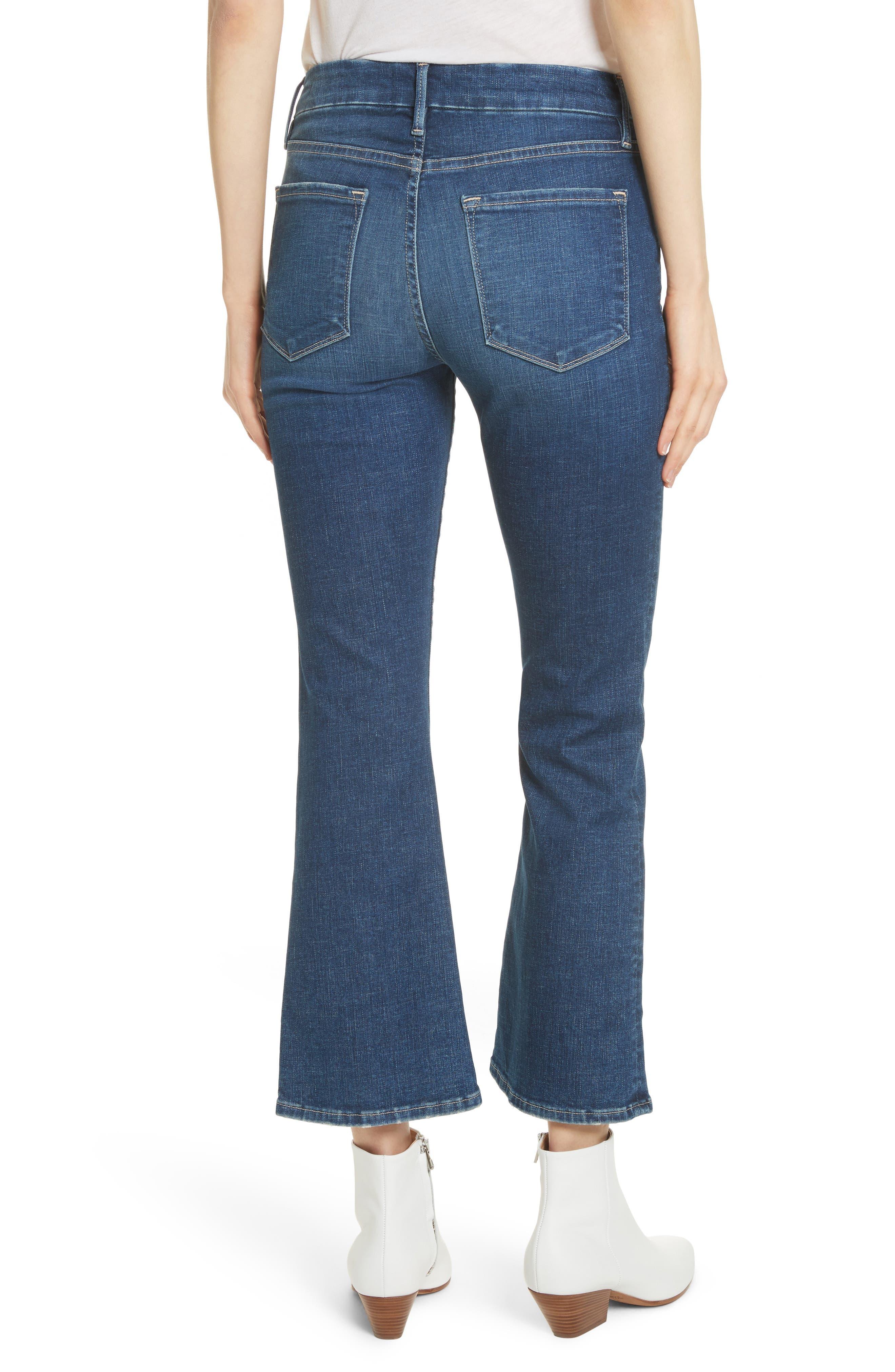 Le Crop Mini Boot Jeans,                             Alternate thumbnail 2, color,                             401