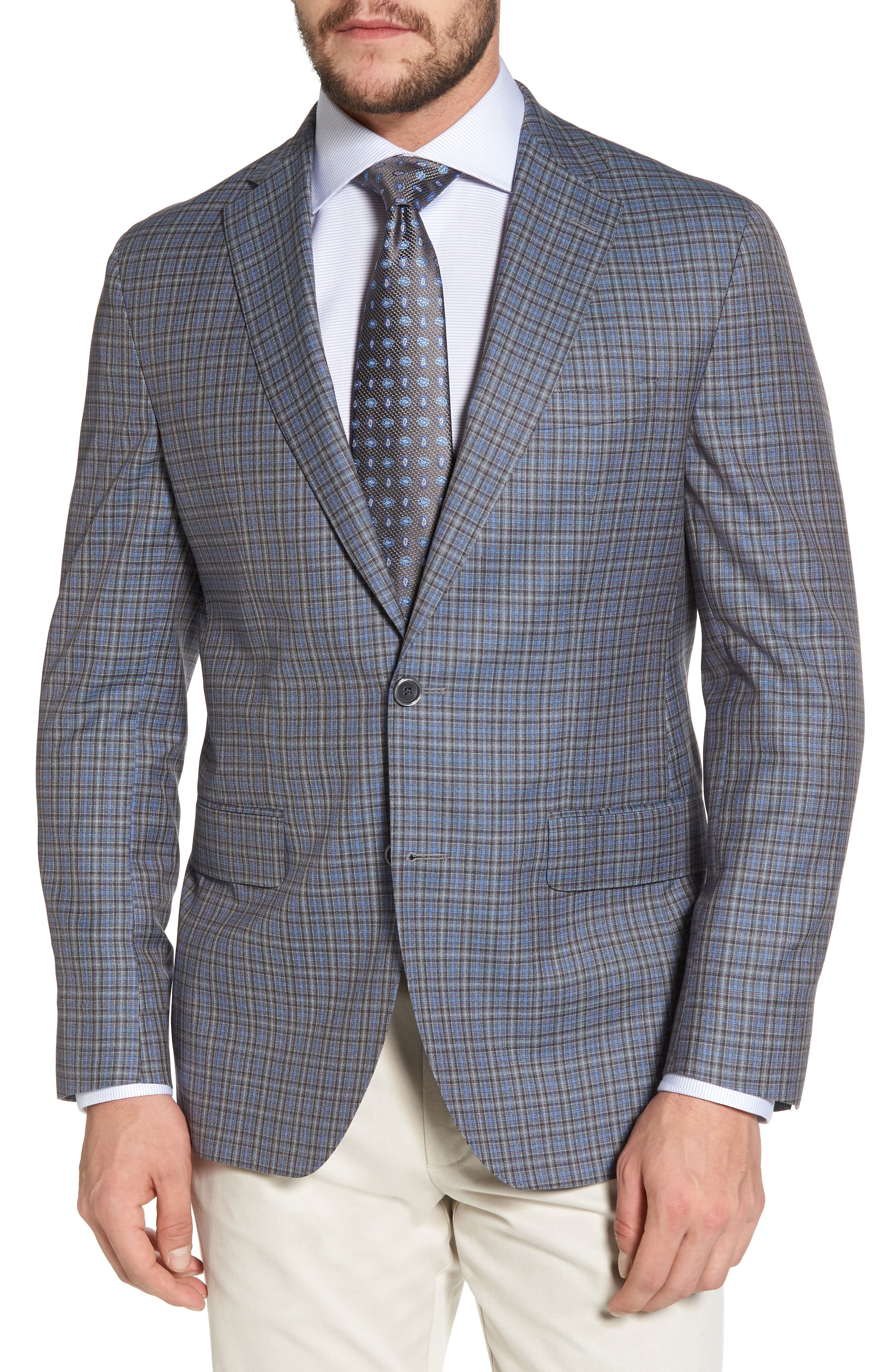 Arnold Classic Fit Sport Coat,                         Main,                         color, 020