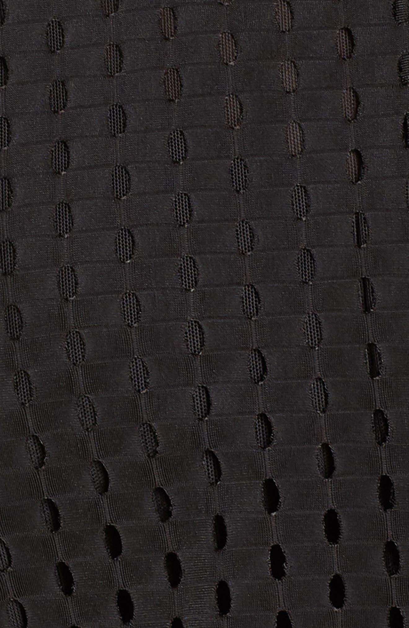 Luxe Jacket,                             Alternate thumbnail 6, color,                             PUMA BLACK
