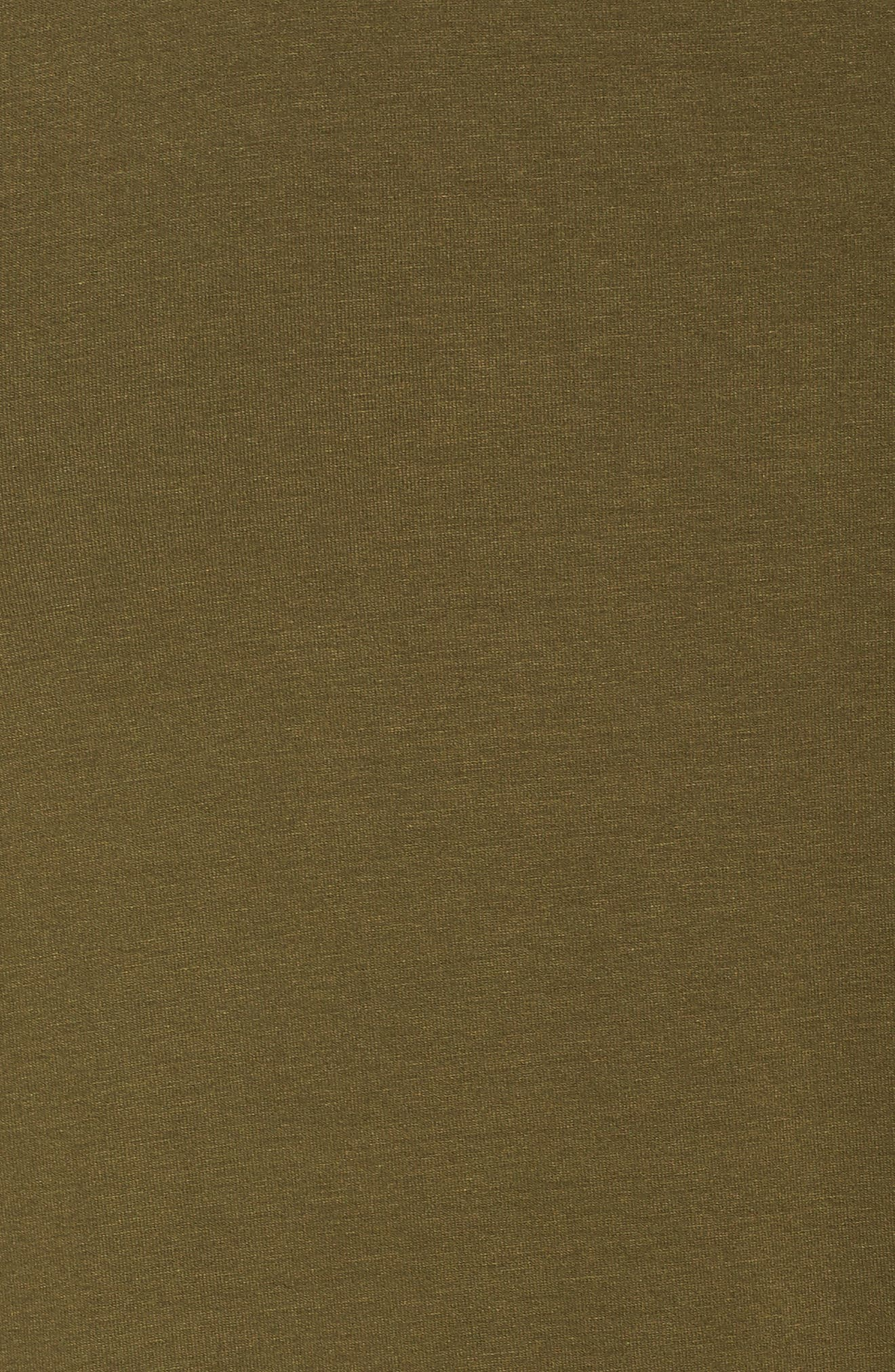 Stretch Jersey Shift Dress,                             Alternate thumbnail 15, color,