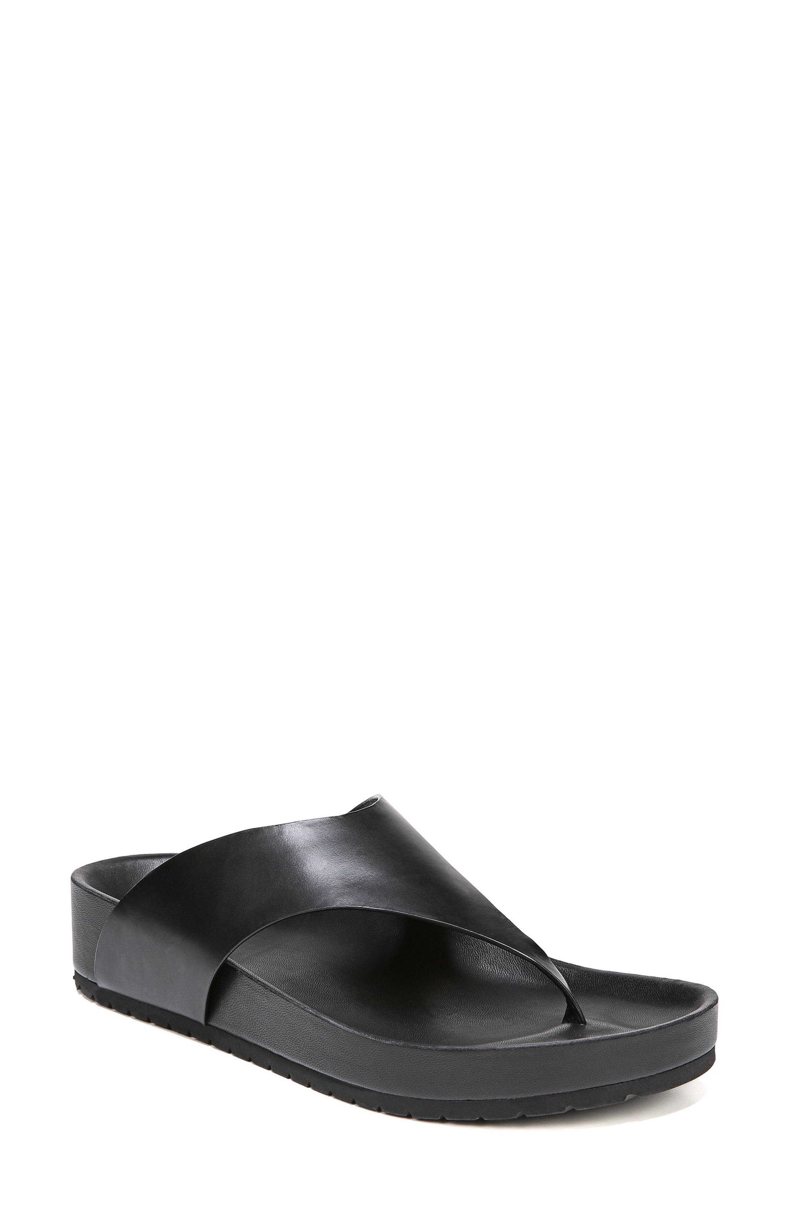 Padma Platform Sandal,                             Main thumbnail 1, color,                             BLACK