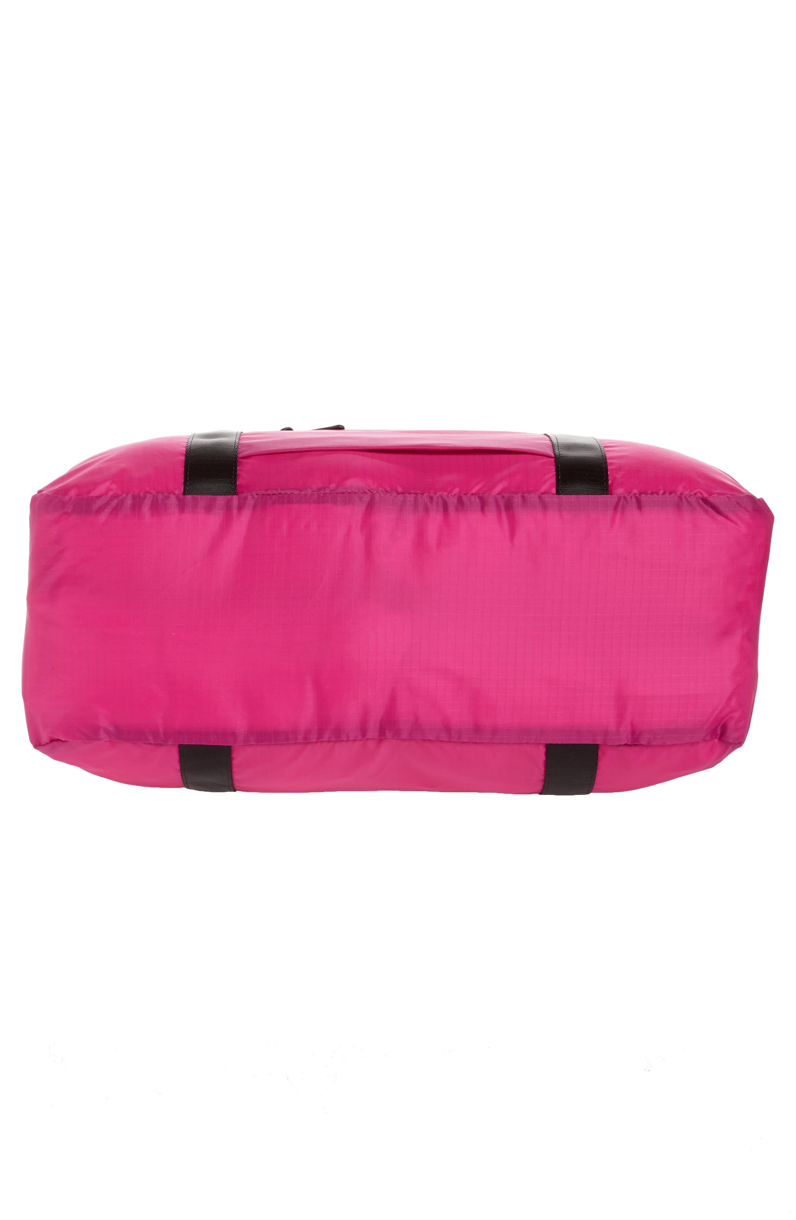 Packable Nylon Duffel Bag,                             Alternate thumbnail 18, color,