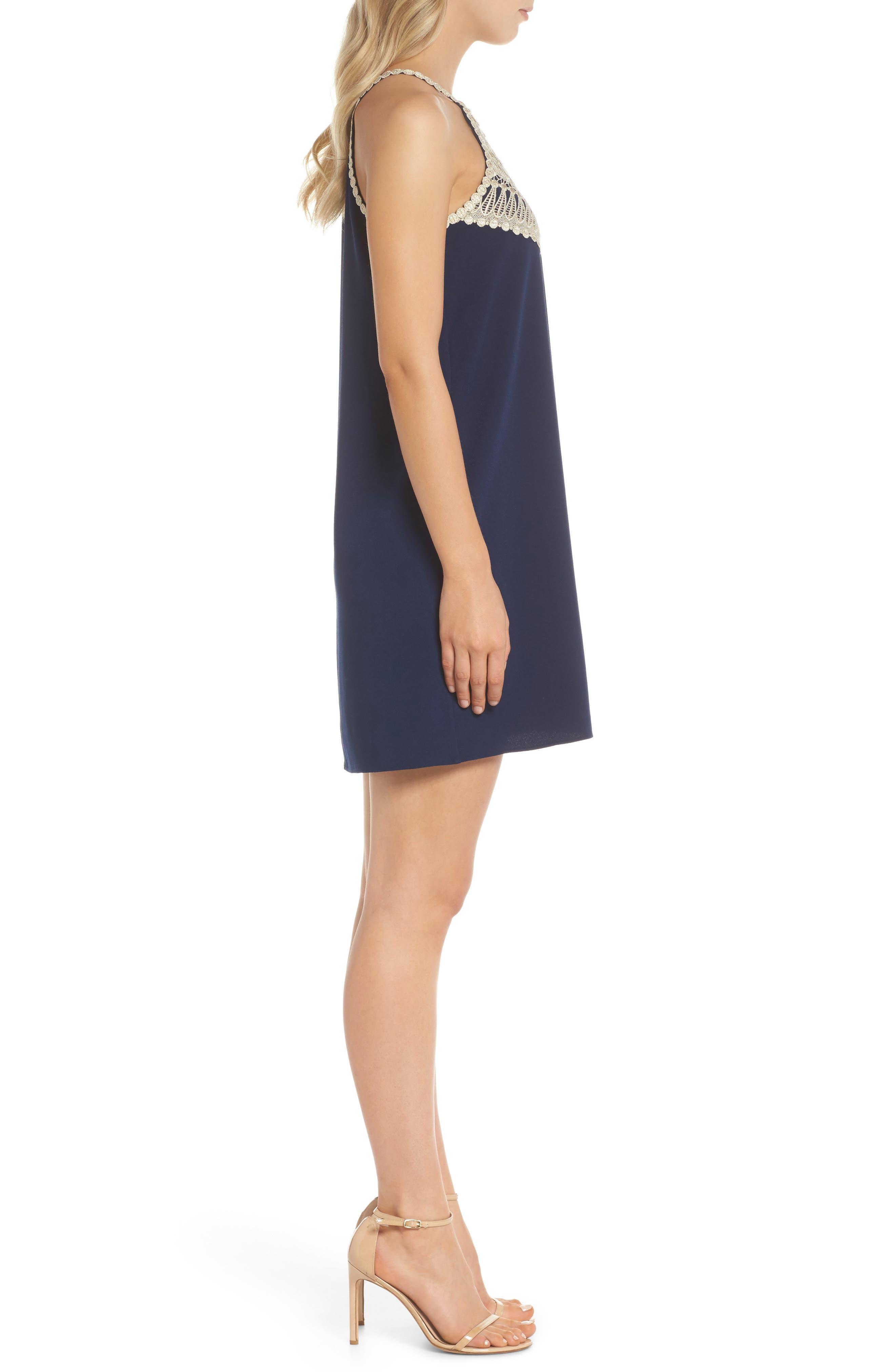 Pearl Soft Sleeveless Shift Dress,                             Alternate thumbnail 3, color,                             408