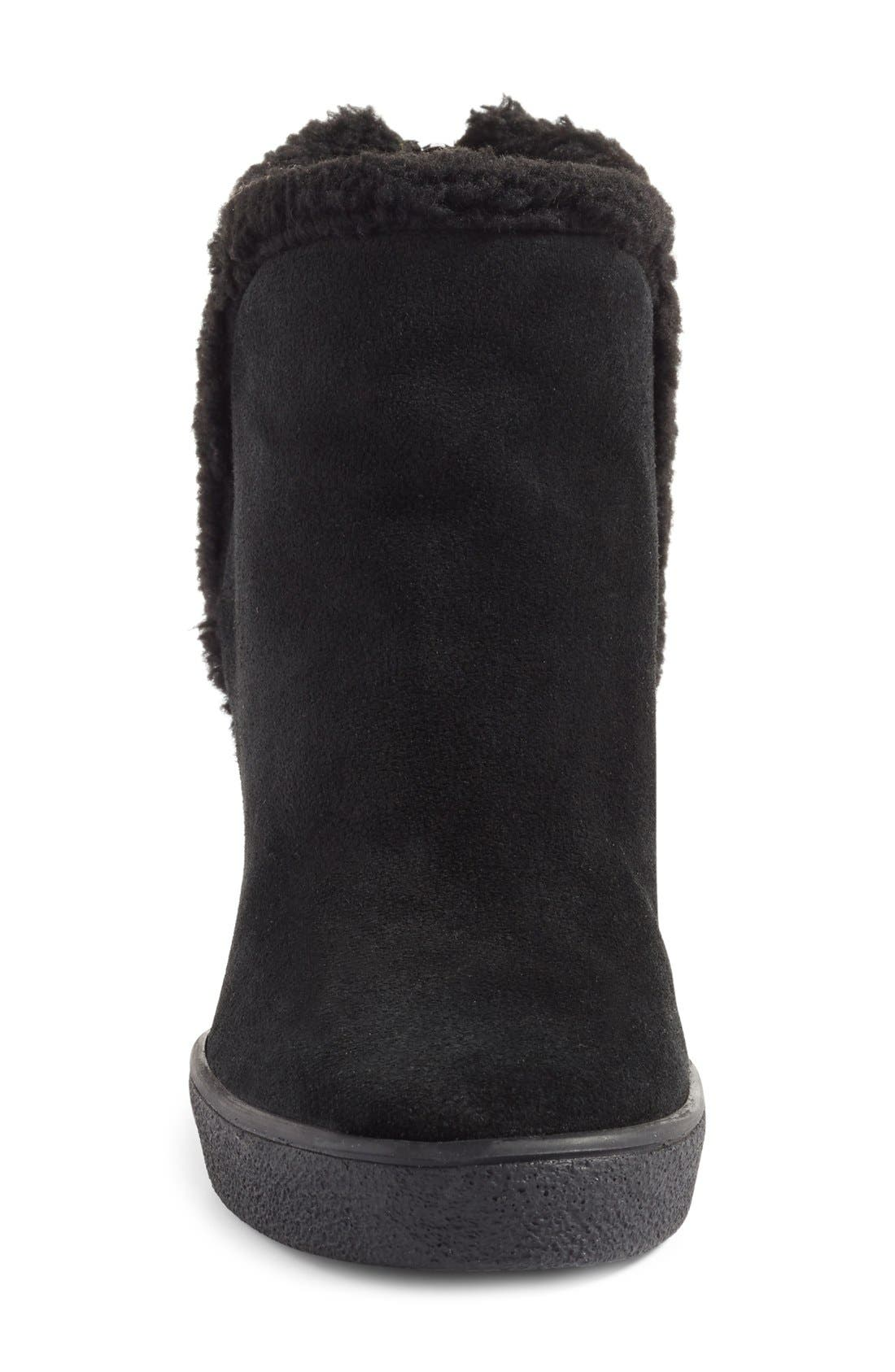 Charlie Weatherproof Hidden Wedge Bootie,                             Alternate thumbnail 3, color,                             001