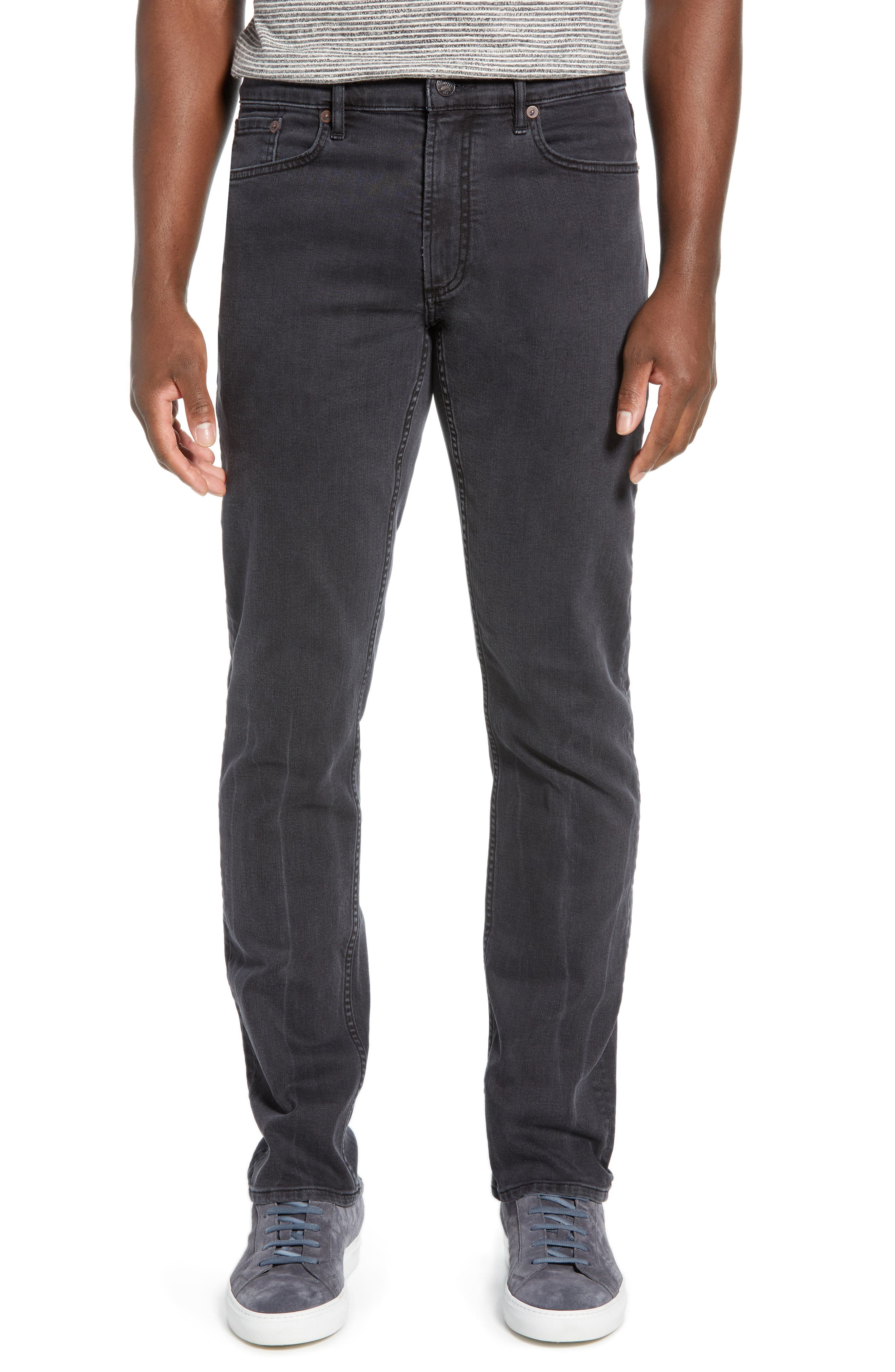 Faherty Ocean Wash Straight Leg Jeans, Blue