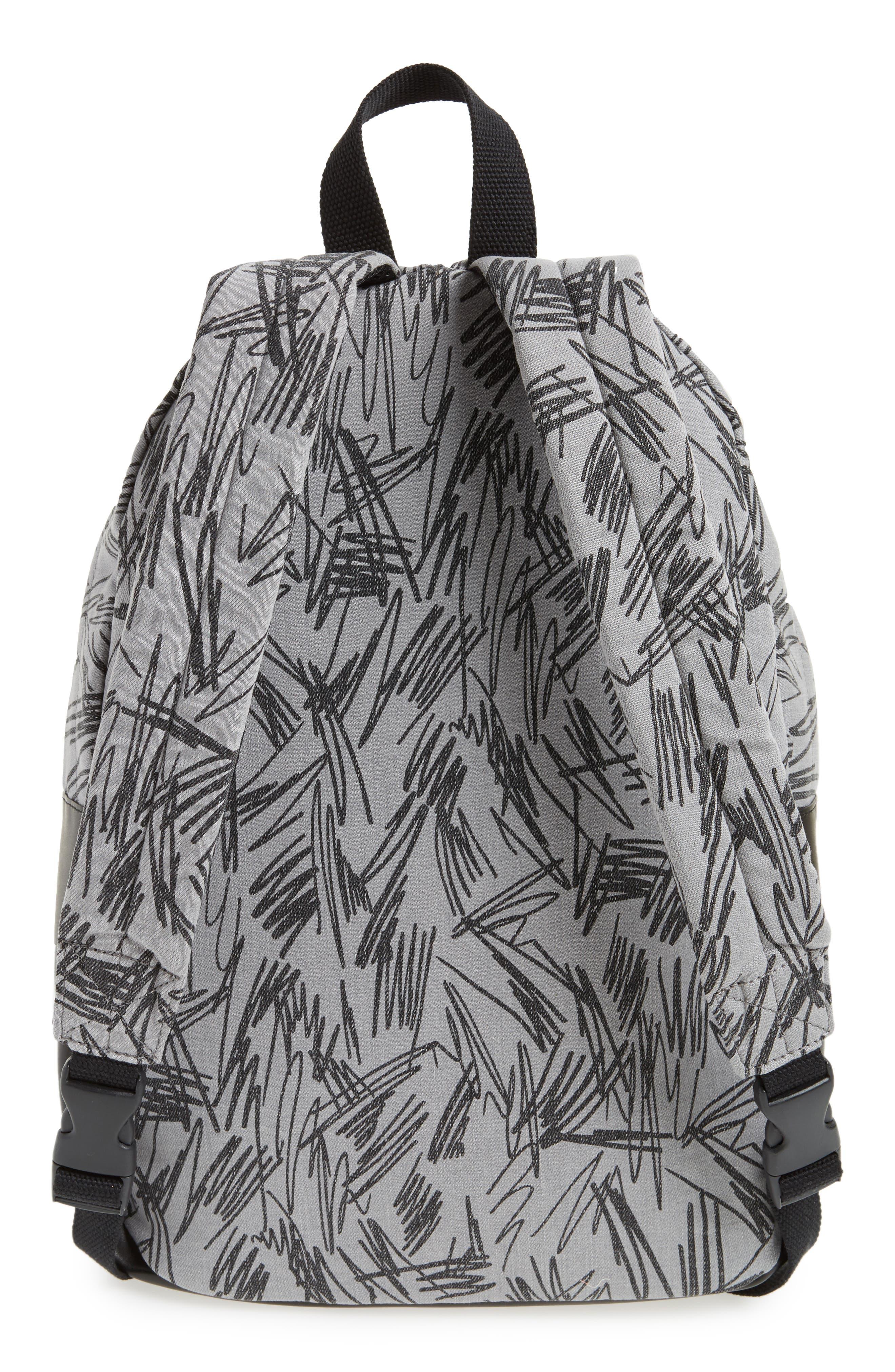 Scribble Print Backpack,                             Alternate thumbnail 2, color,                             020