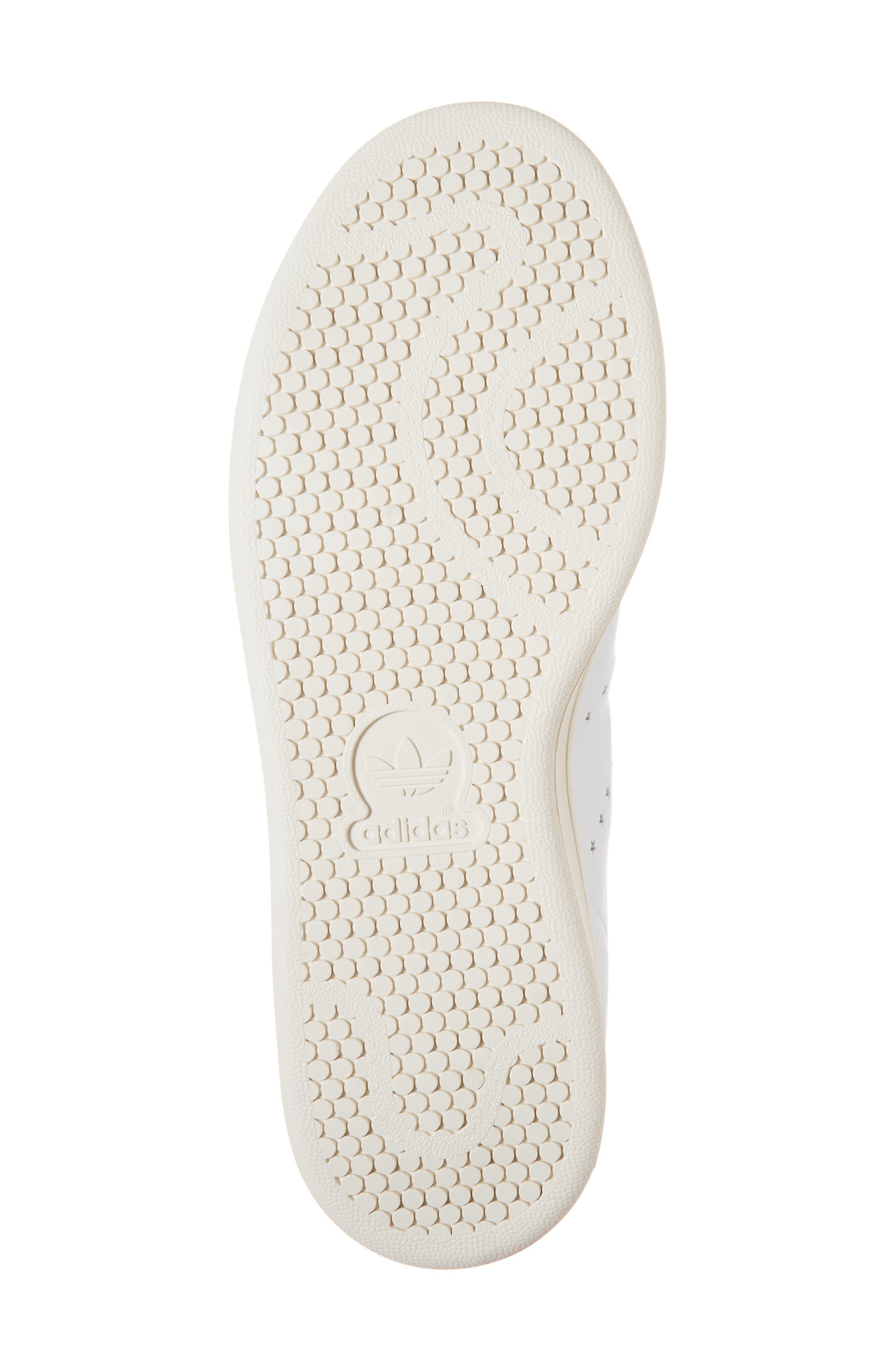 Stan Smith Sneaker,                             Alternate thumbnail 6, color,                             WHITE