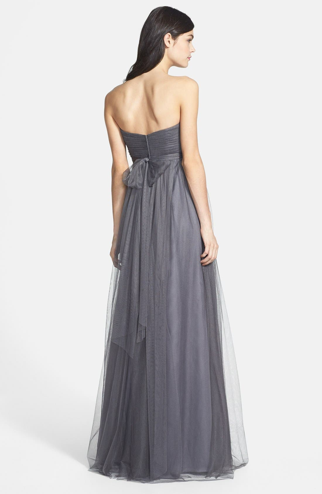 Annabelle Convertible Tulle Column Dress,                             Alternate thumbnail 116, color,