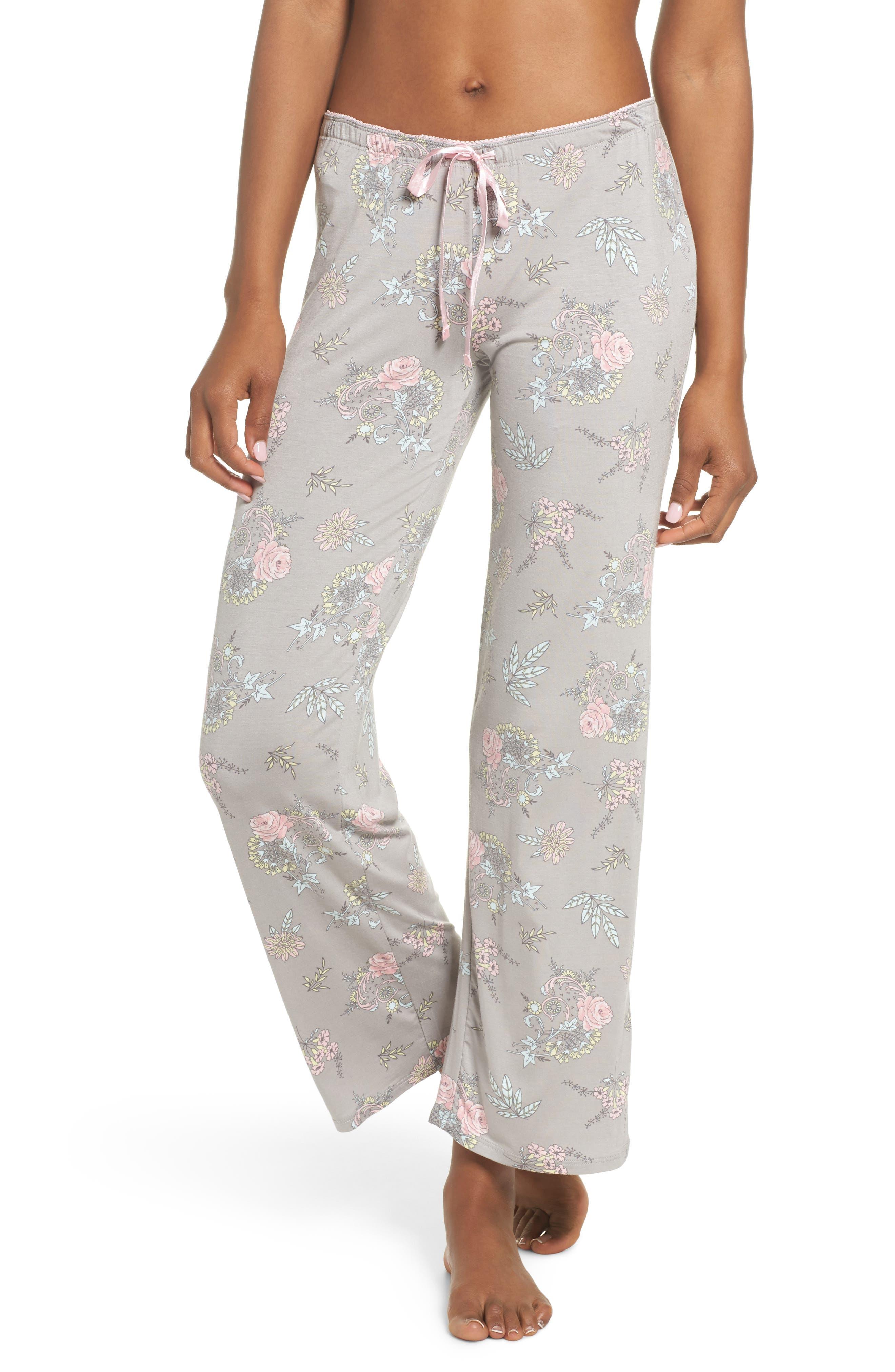Drawstring Pajama Pants,                             Main thumbnail 1, color,                             020