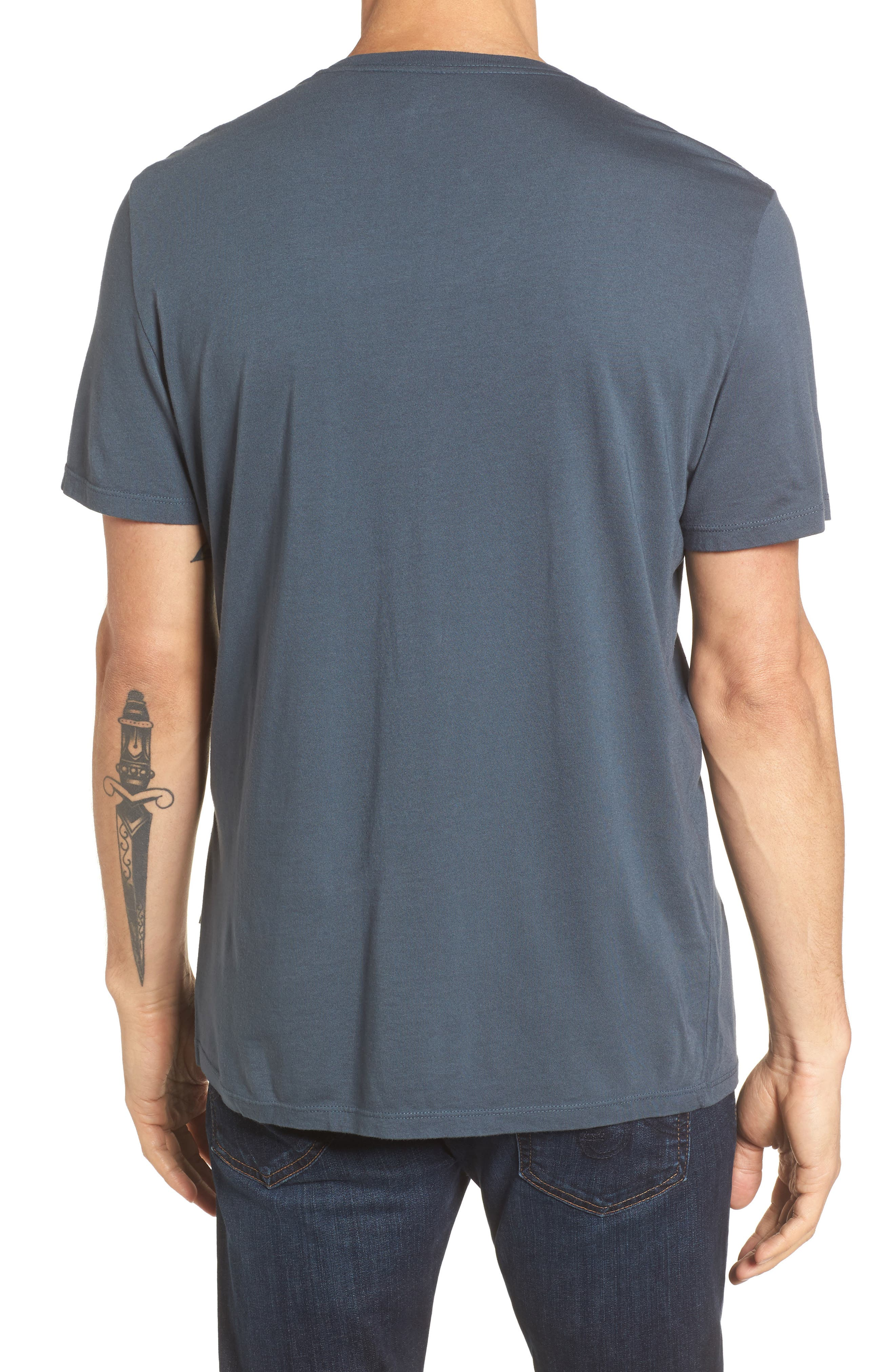 Bryce V-Neck T-Shirt,                             Alternate thumbnail 3, color,