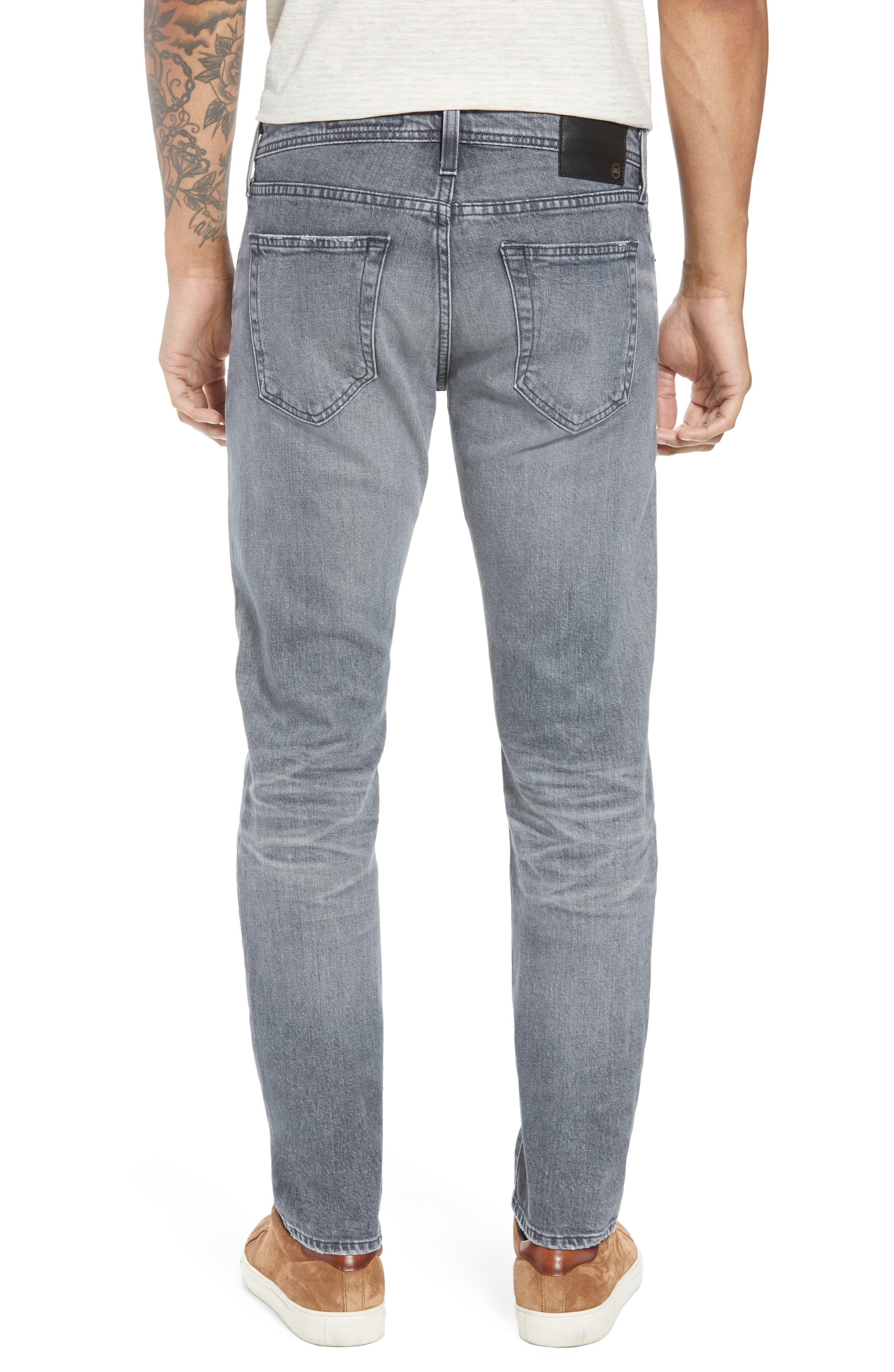 Tellis Slim Fit Jeans,                             Alternate thumbnail 2, color,                             020