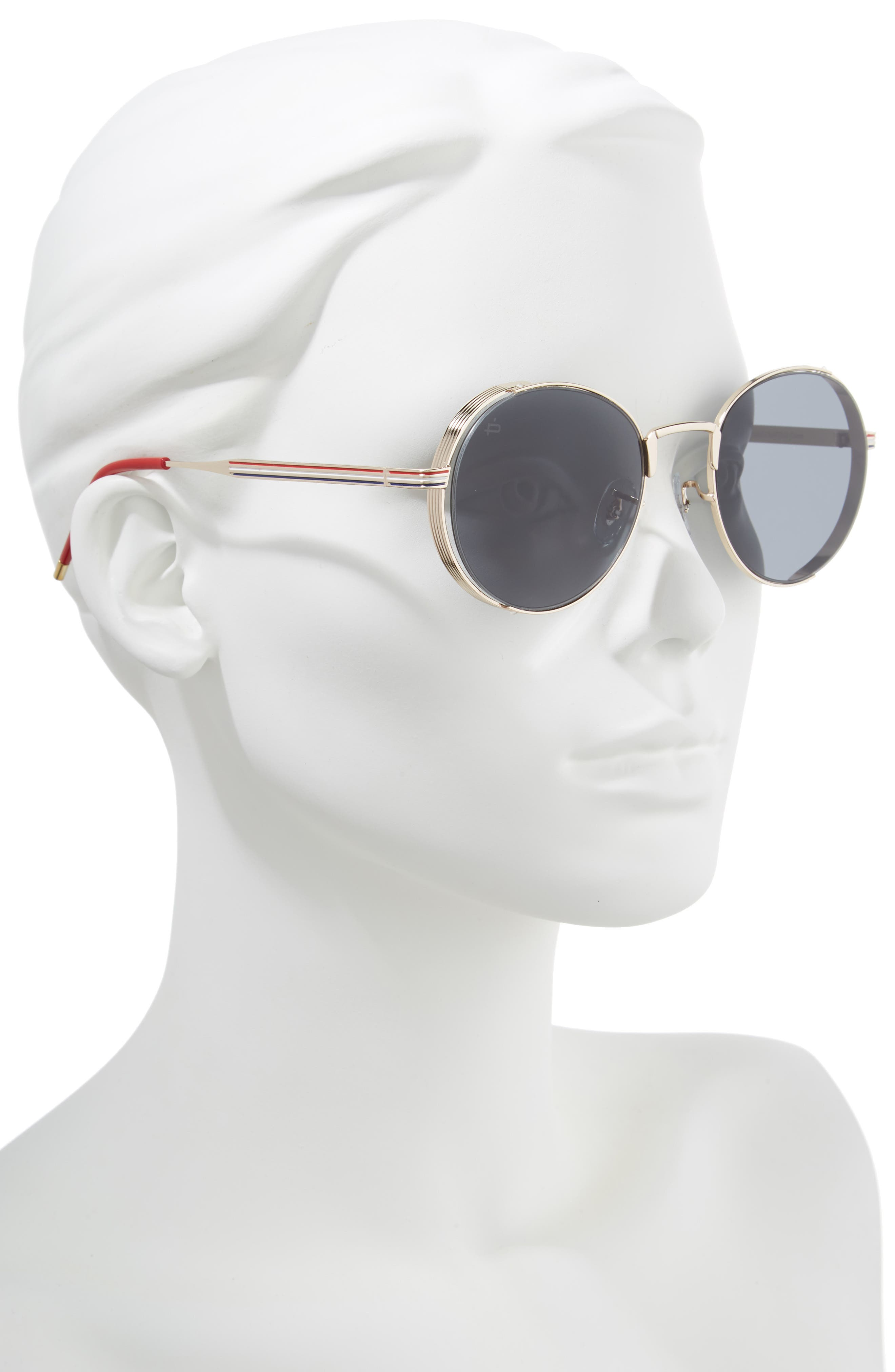 Privé Revaux The Riviera Round Sunglasses,                             Alternate thumbnail 2, color,                             020