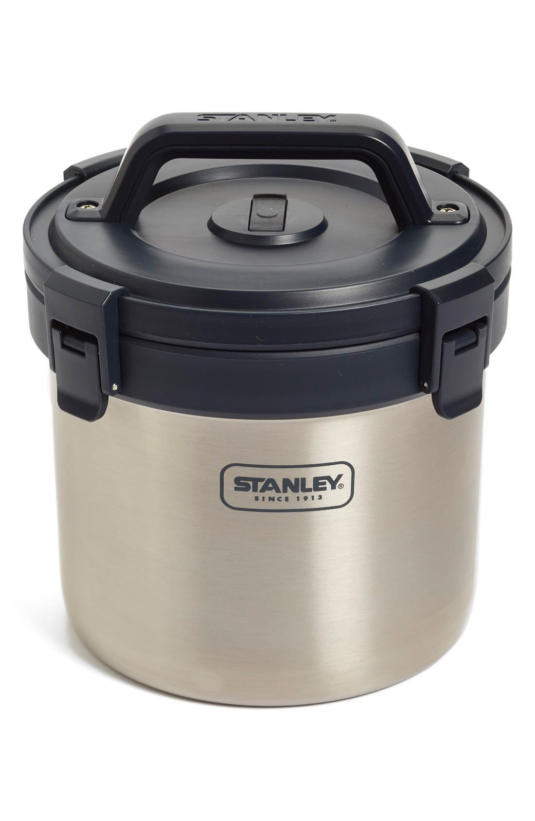 'Adventure' 3 Quart Vacuum Insulated Stainless Steel Crock,                             Main thumbnail 1, color,                             040