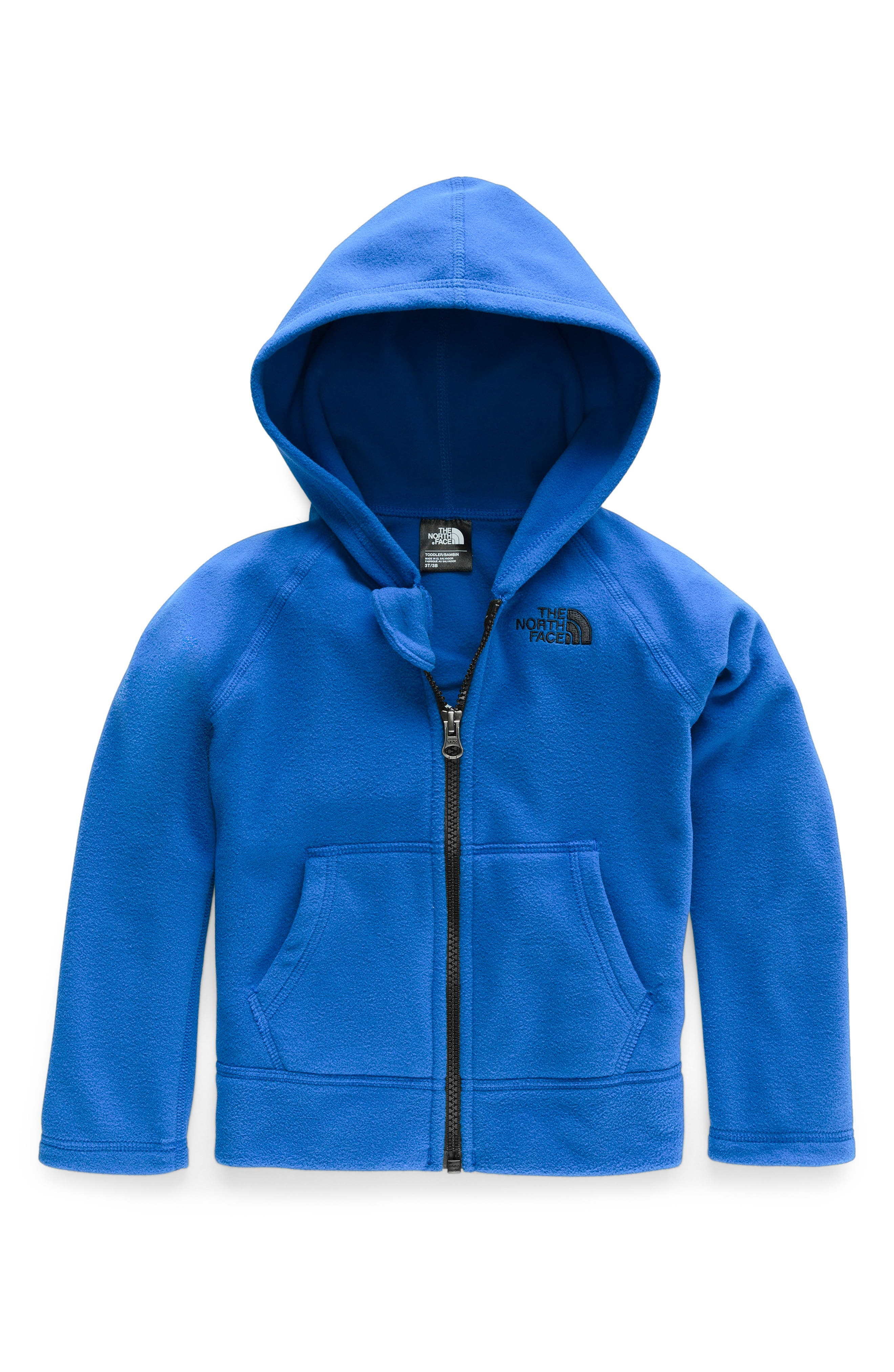 Toddler Boys The North Face Glacier Zip Hoodie Size 3T  Blue