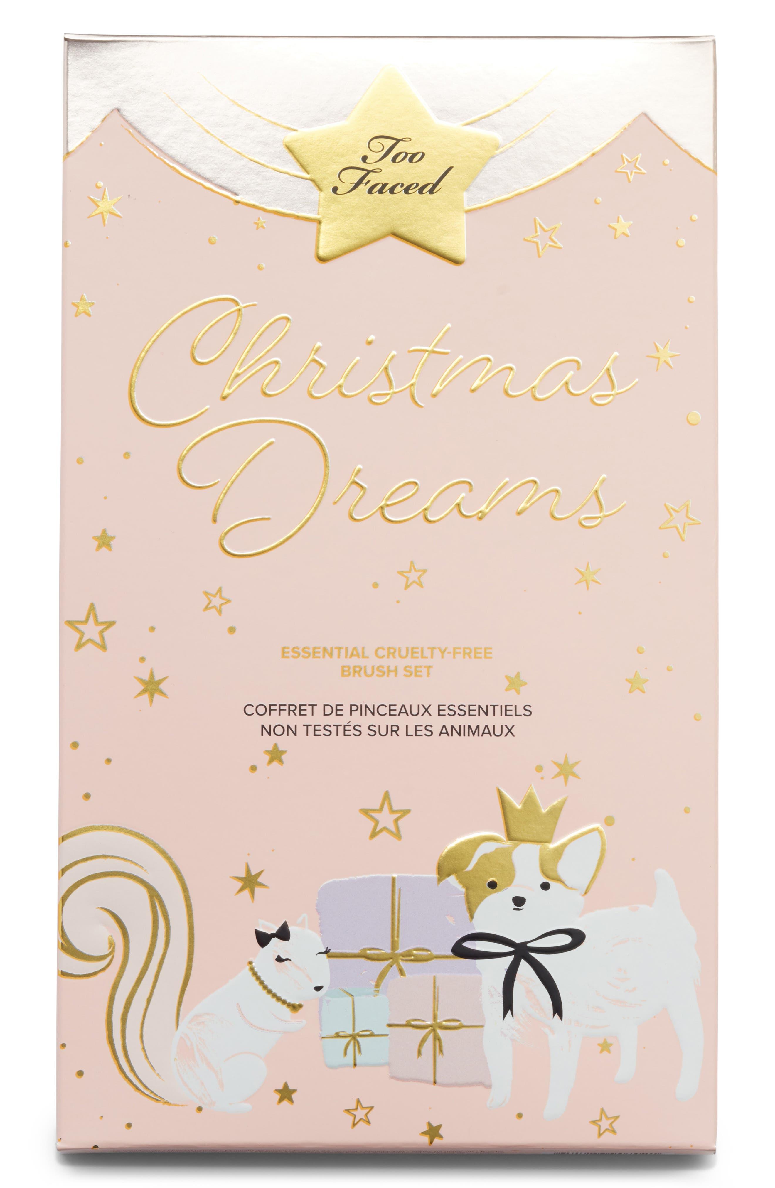 Christmas Dreams Brush Set,                             Alternate thumbnail 2, color,                             000