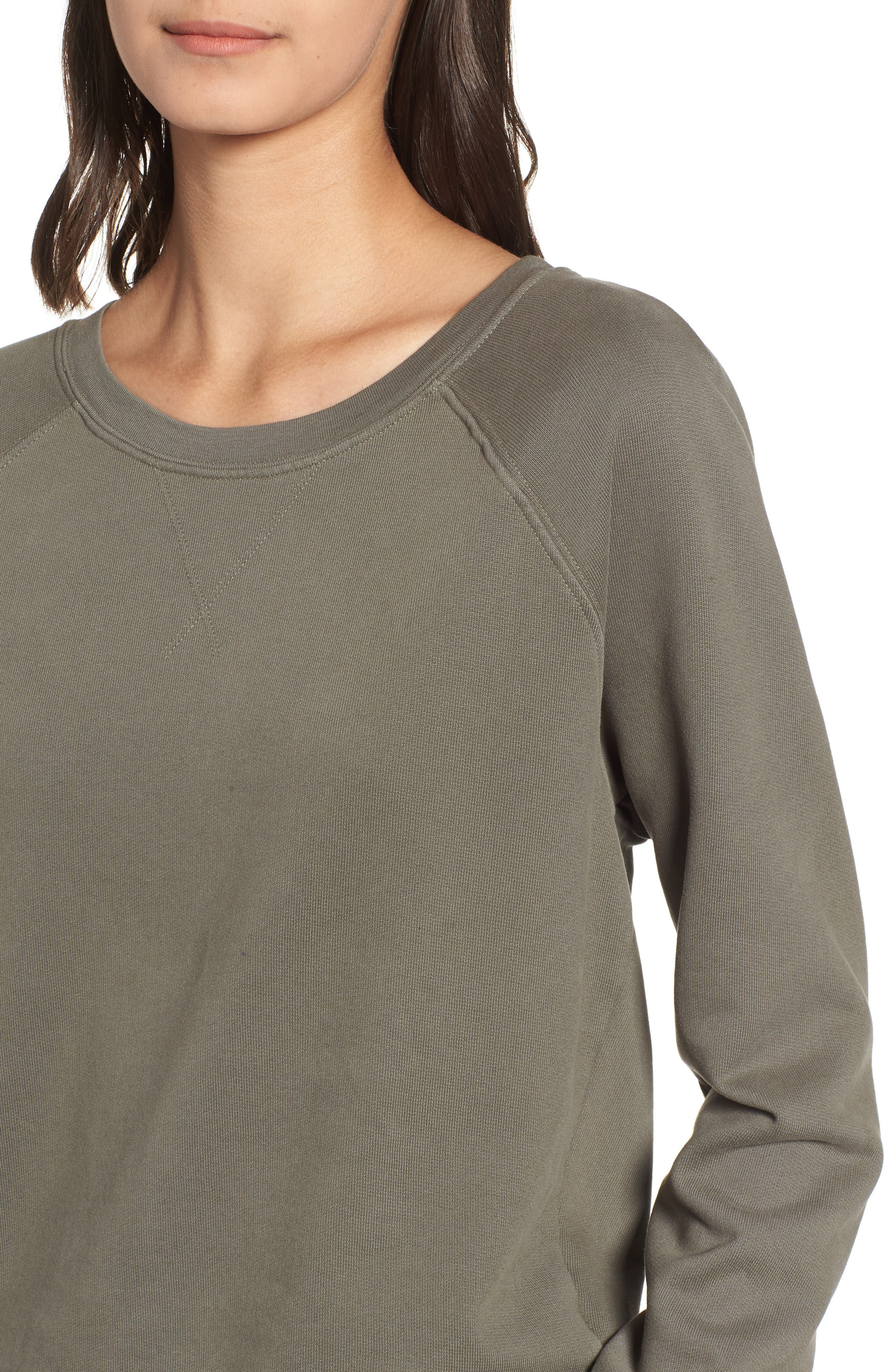 French Terry Sweatshirt,                             Alternate thumbnail 4, color,                             300