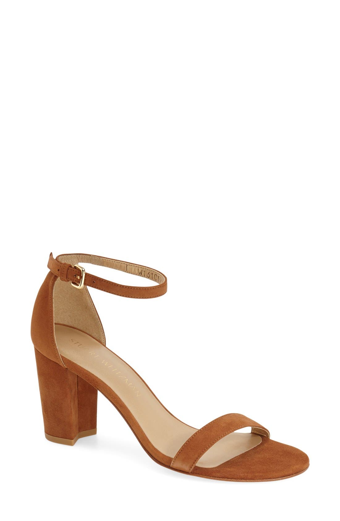 NearlyNude Ankle Strap Sandal,                             Main thumbnail 17, color,