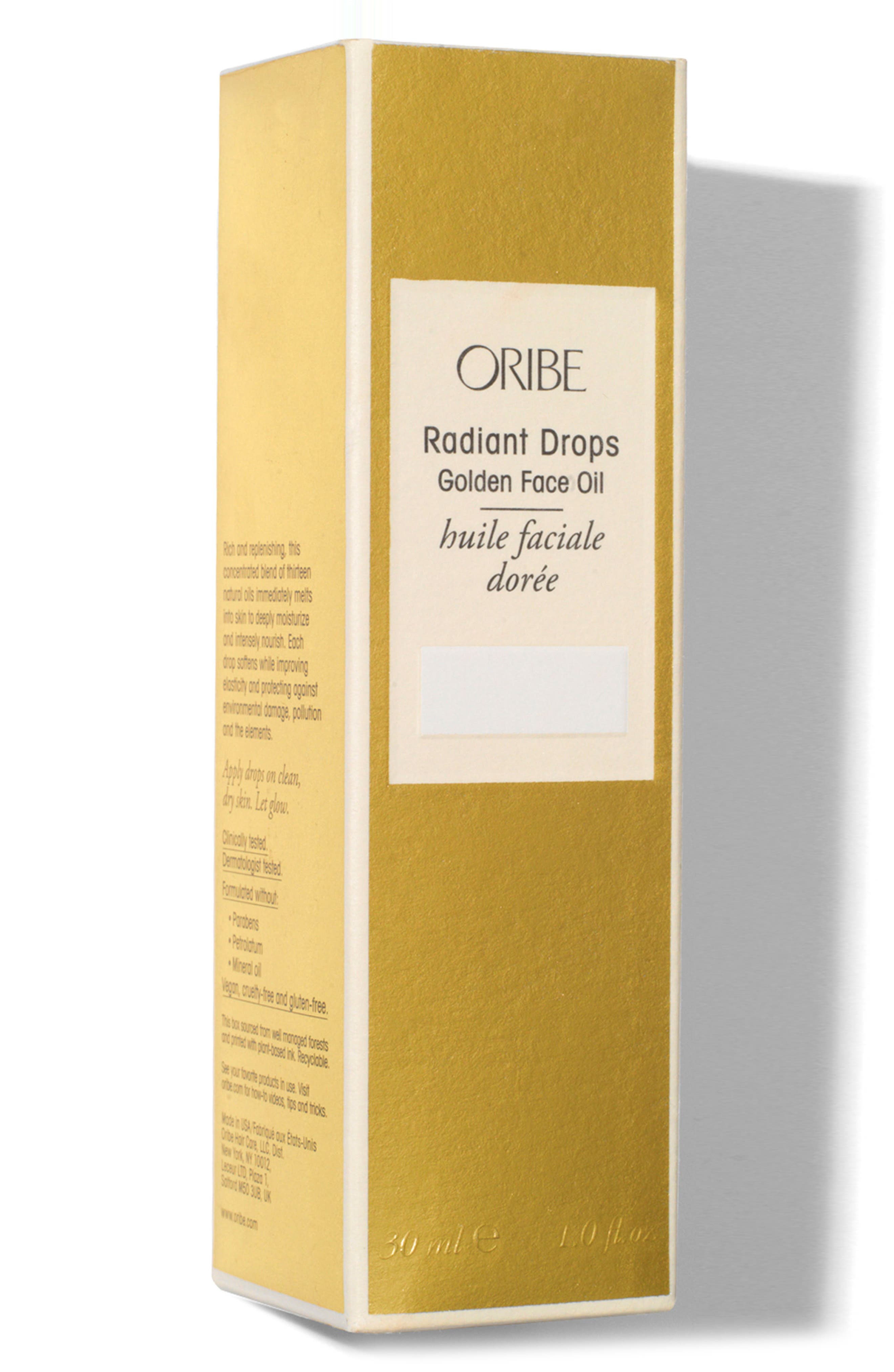 SPACE.NK.apothecary Oribe Radiant Drops Golden Face Oil,                             Alternate thumbnail 2, color,                             NO COLOR