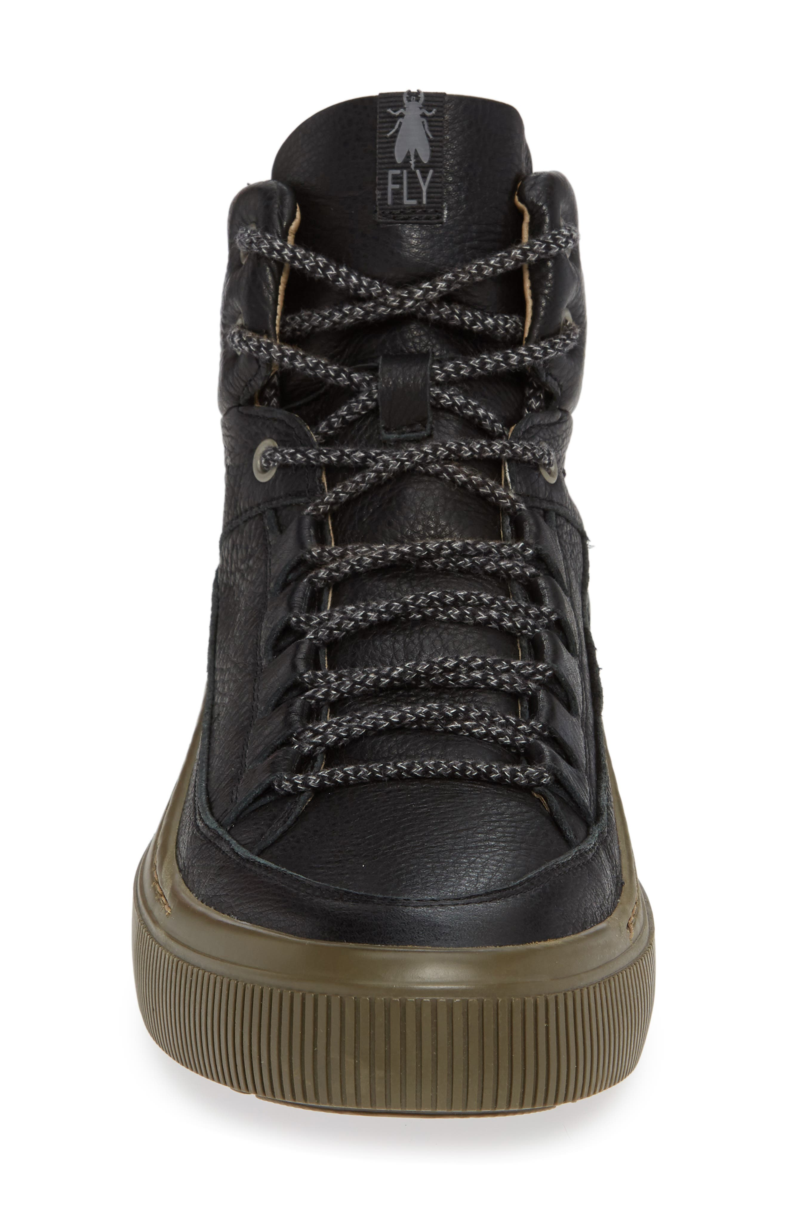 Samu Sneaker,                             Alternate thumbnail 4, color,                             BLACK/ NICOTINE BRITO