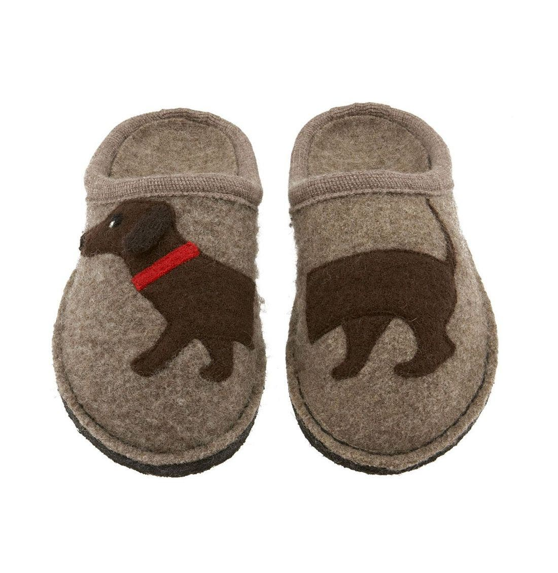 'Doggy' Slipper,                             Alternate thumbnail 11, color,                             EARTH