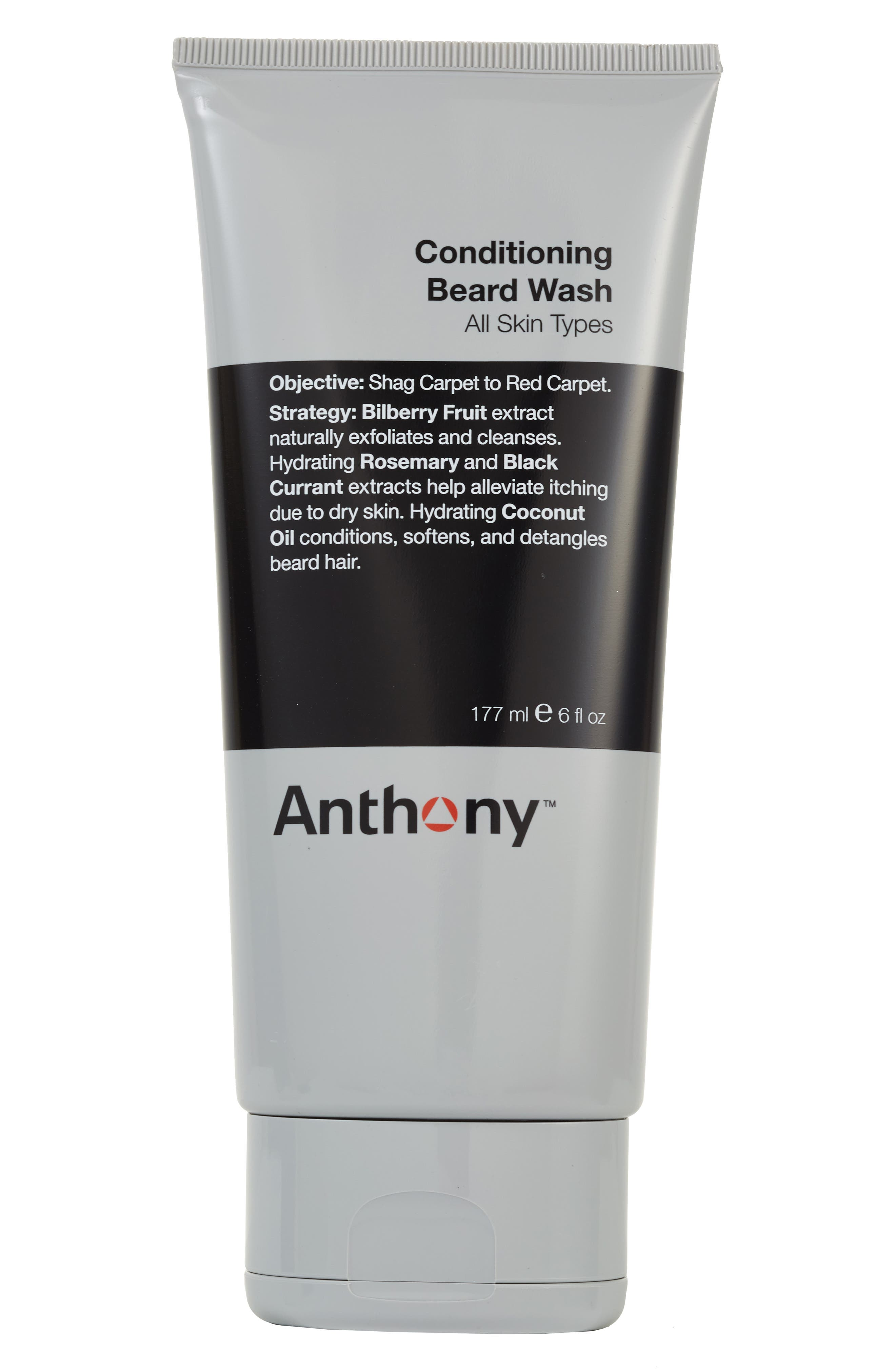 Conditioning Beard Wash, Main, color, NO COLOR