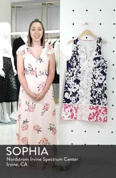 Stretch Cotton A-Line Dress, sales video thumbnail