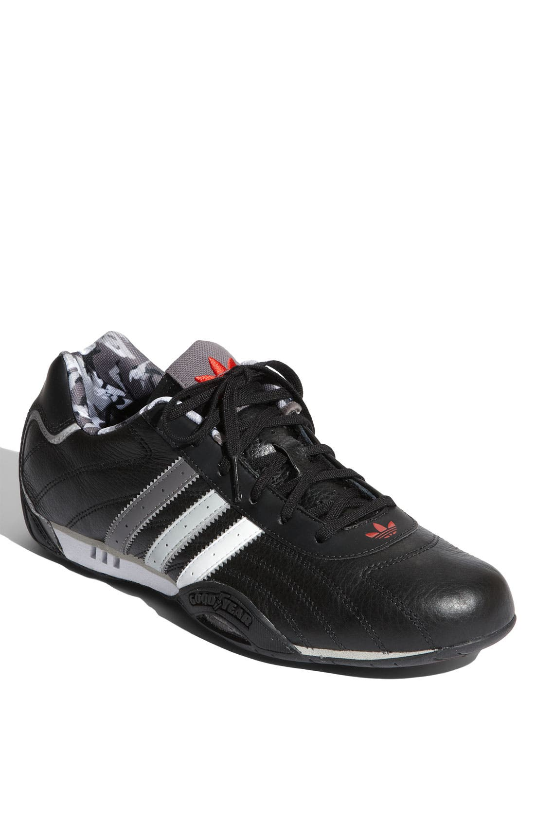 'Adi Racer Lo' Driving Shoe,                             Main thumbnail 1, color,                             001