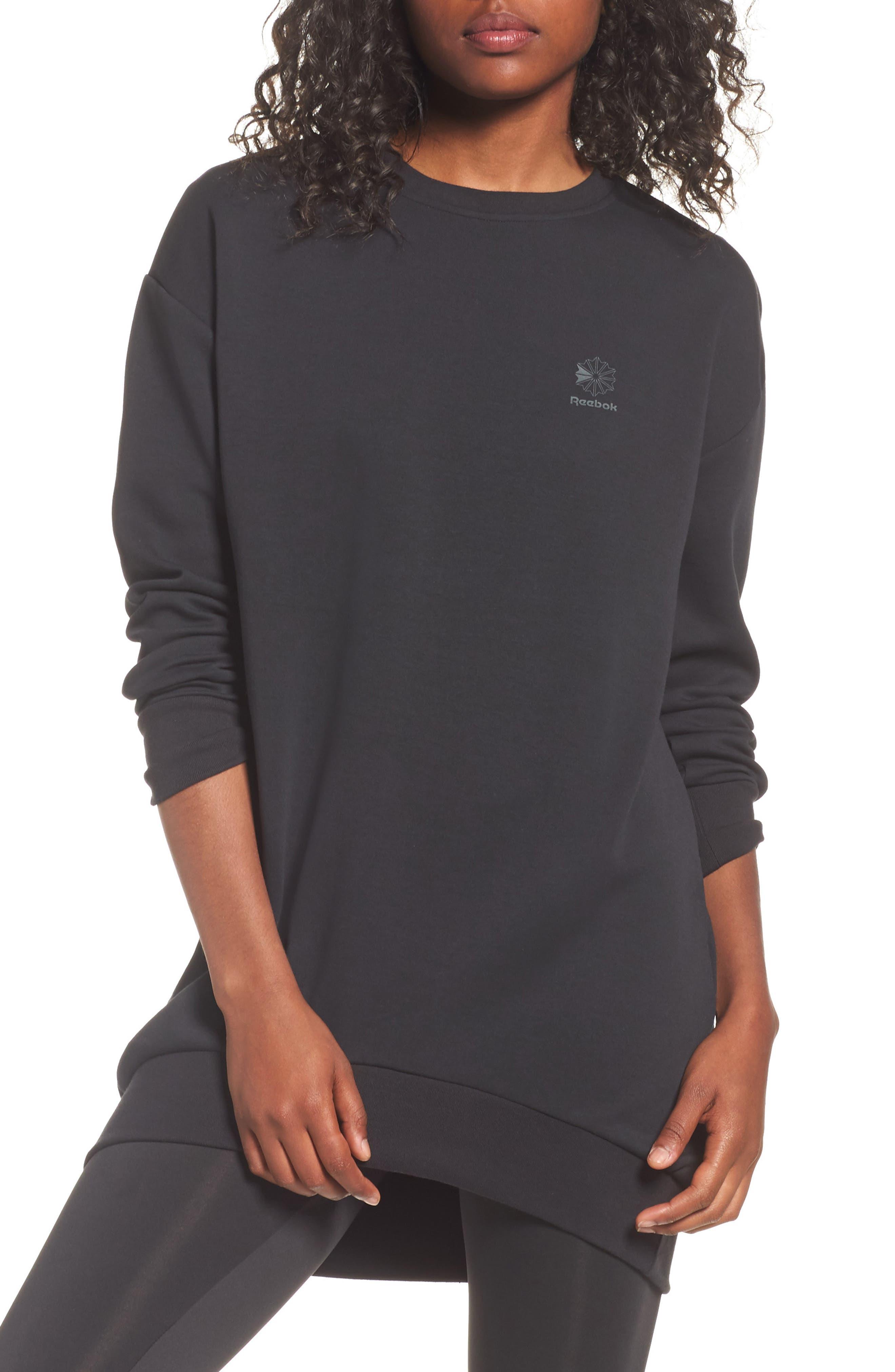Oversized Sweatshirt,                             Main thumbnail 1, color,                             005