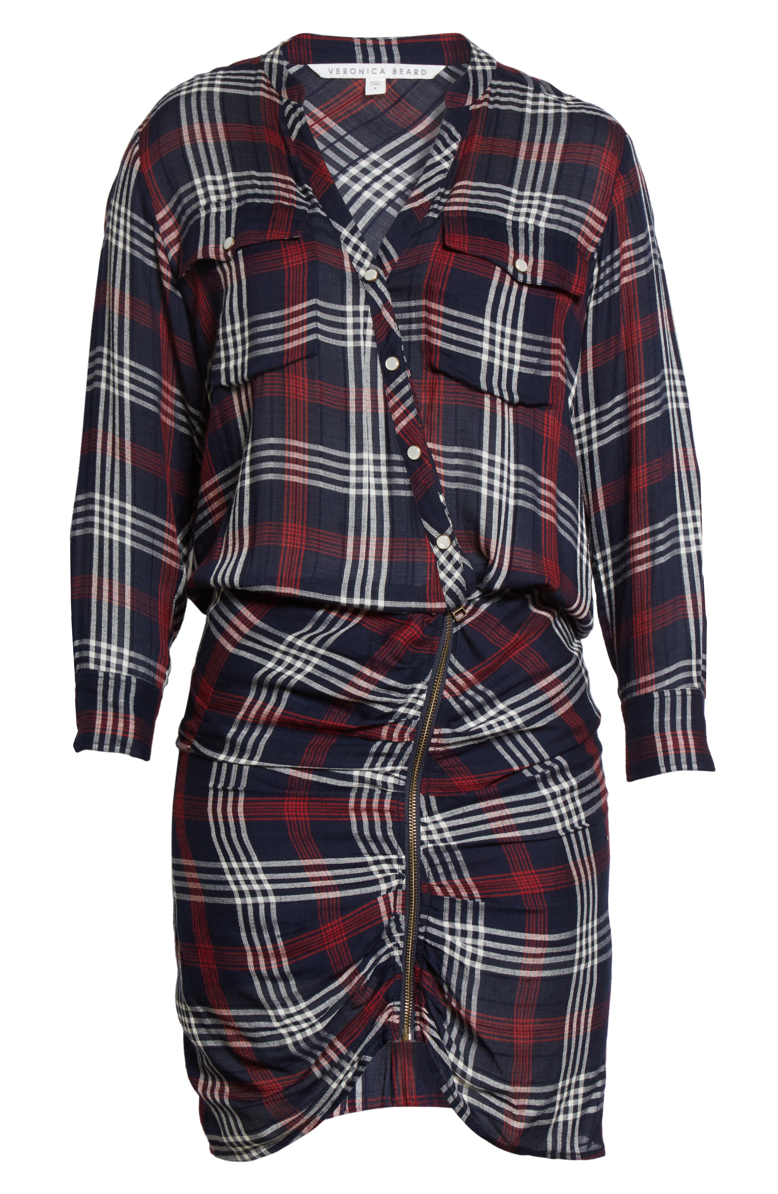 Emory Ruched Cargo Shirtdress,                             Alternate thumbnail 7, color,                             410