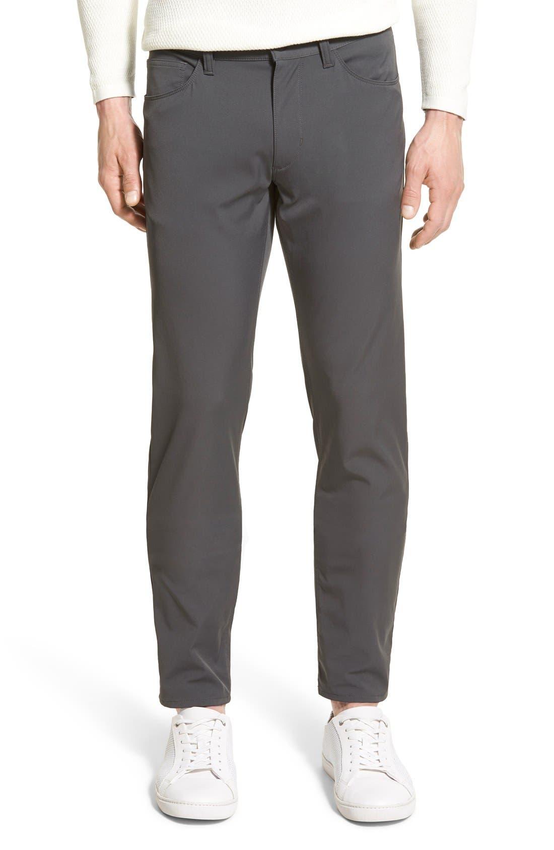 'Raffi' Slim Fit Pants,                             Main thumbnail 1, color,                             021