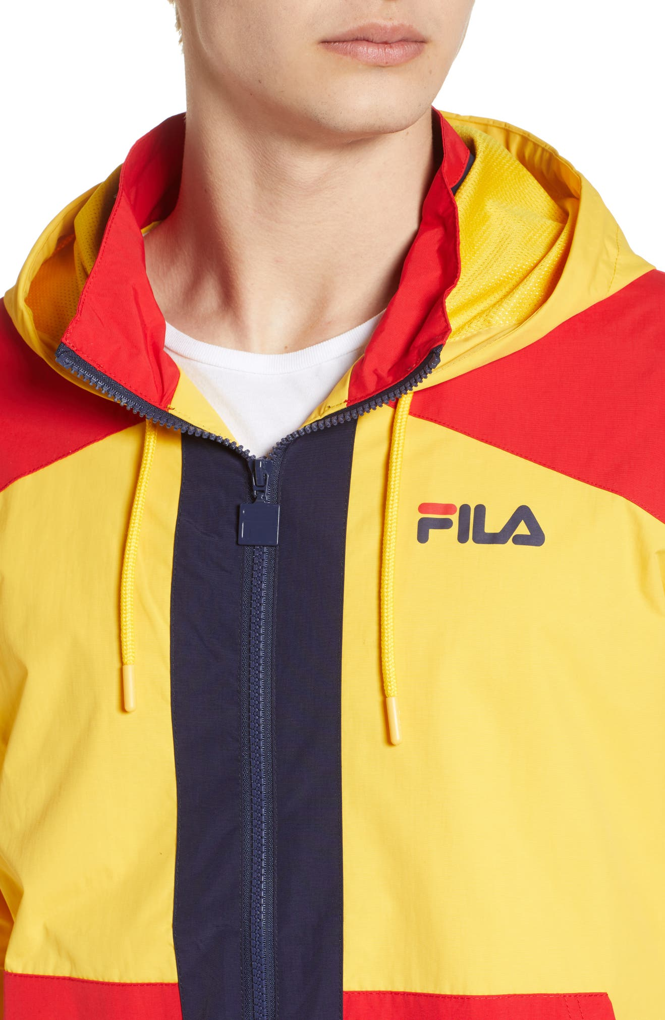 Fila Earl Zip Up Hooded Jacket Nordstrom