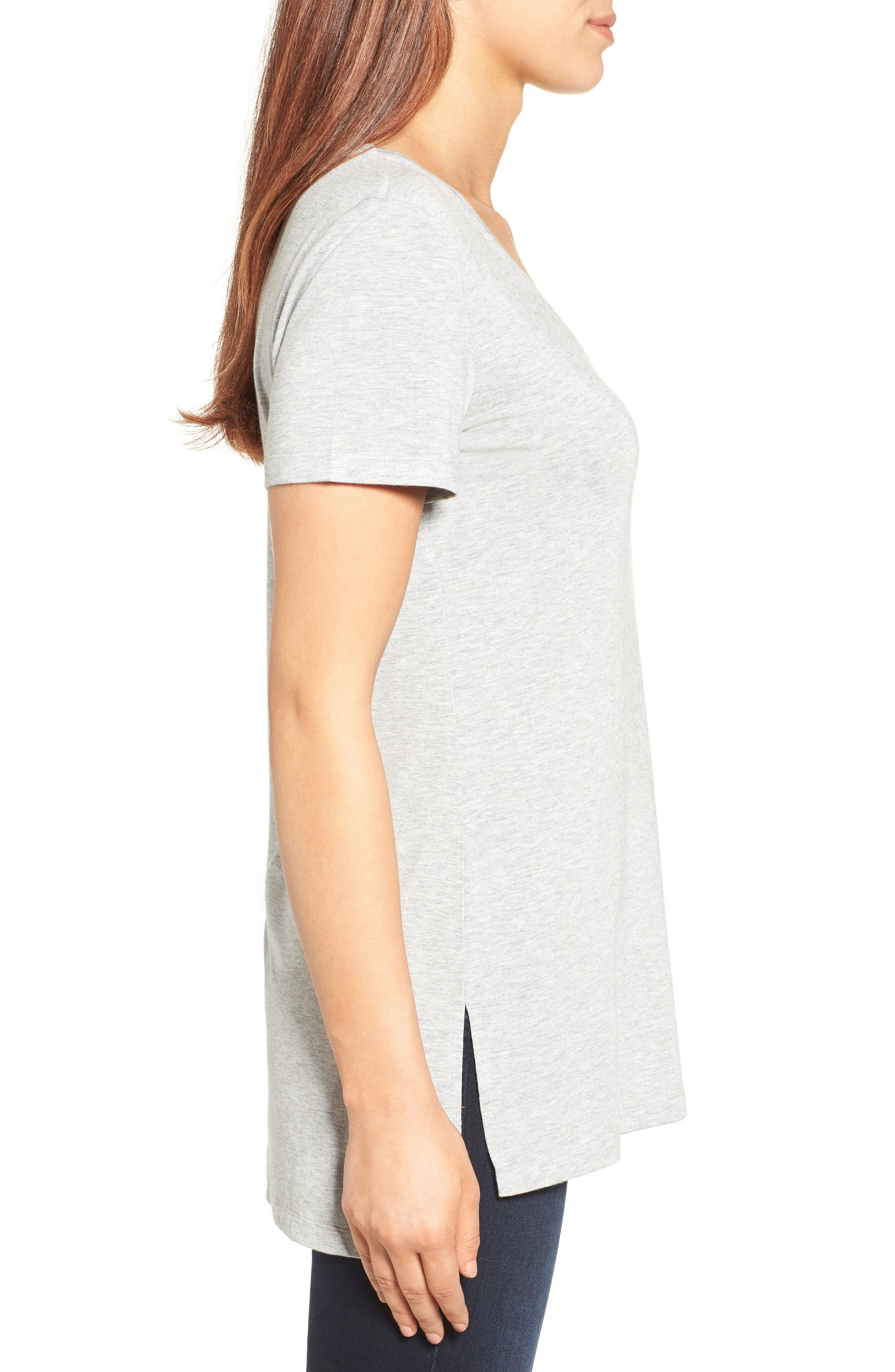 V-Neck Tunic Tee,                             Alternate thumbnail 31, color,